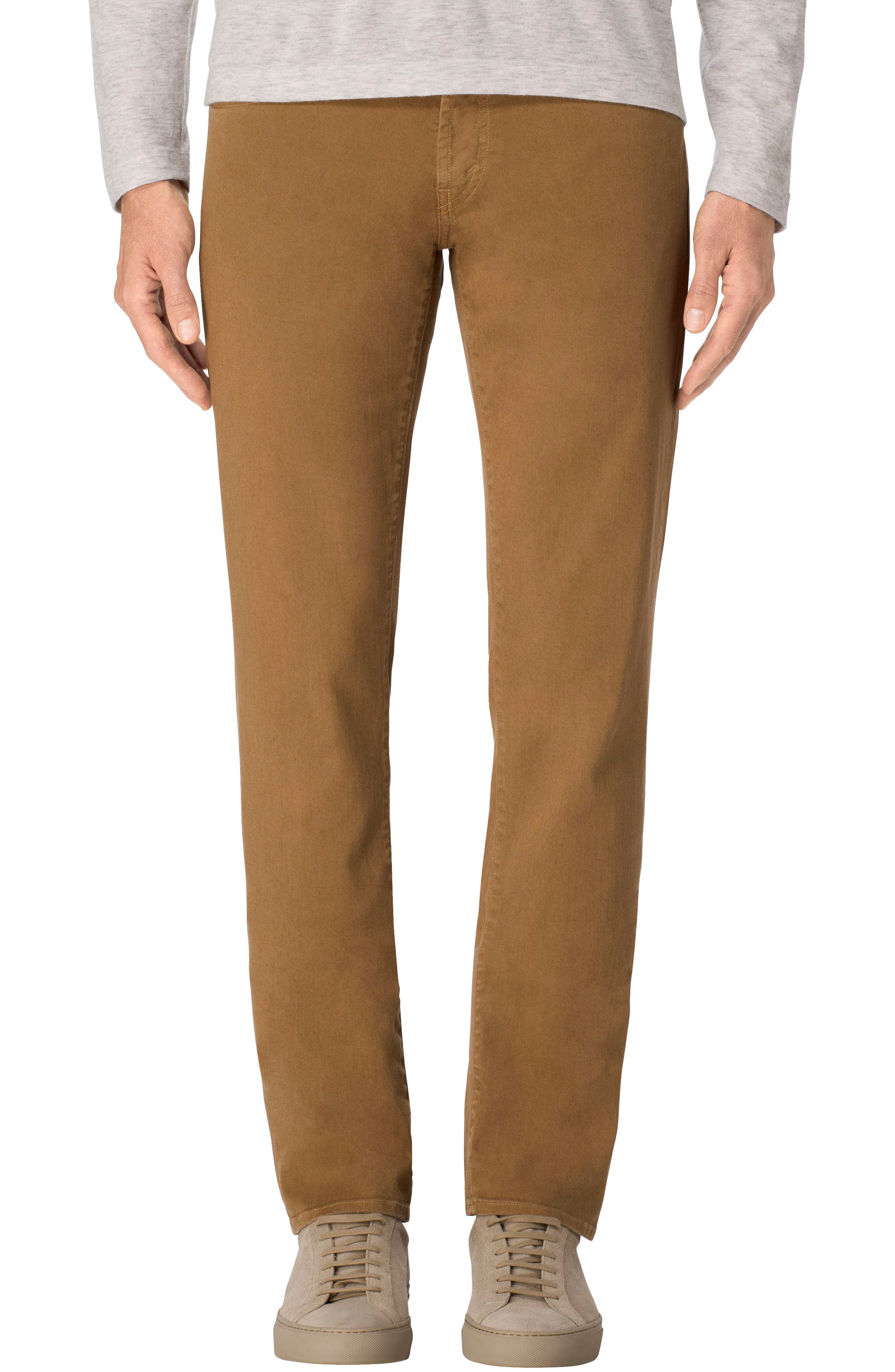 Alternate Image 1 Selected - J Brand Tyler Slim Fit Jeans (Burner)