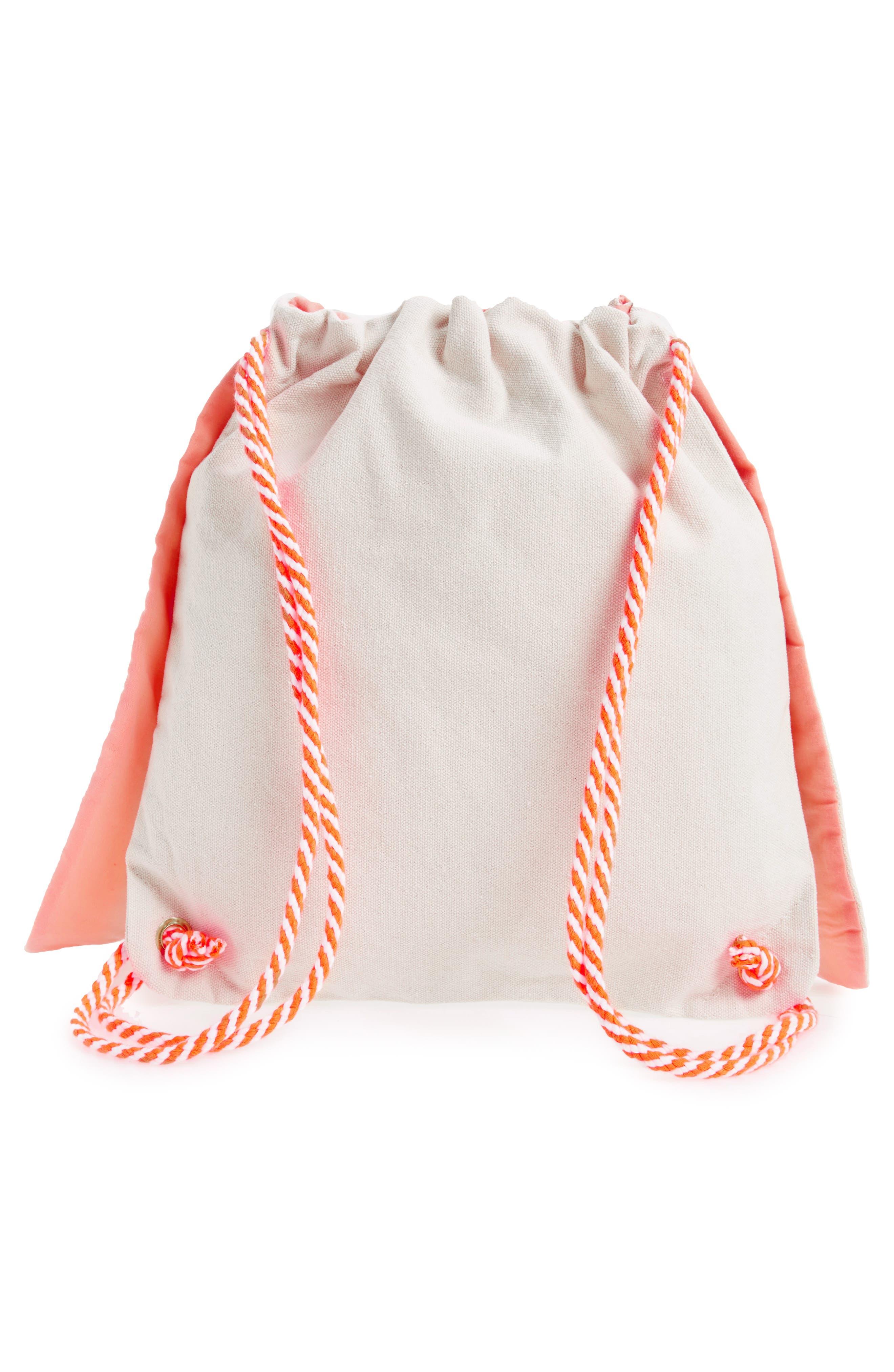 Alternate Image 2  - Meri Meri Bunny Backpack (Kids)