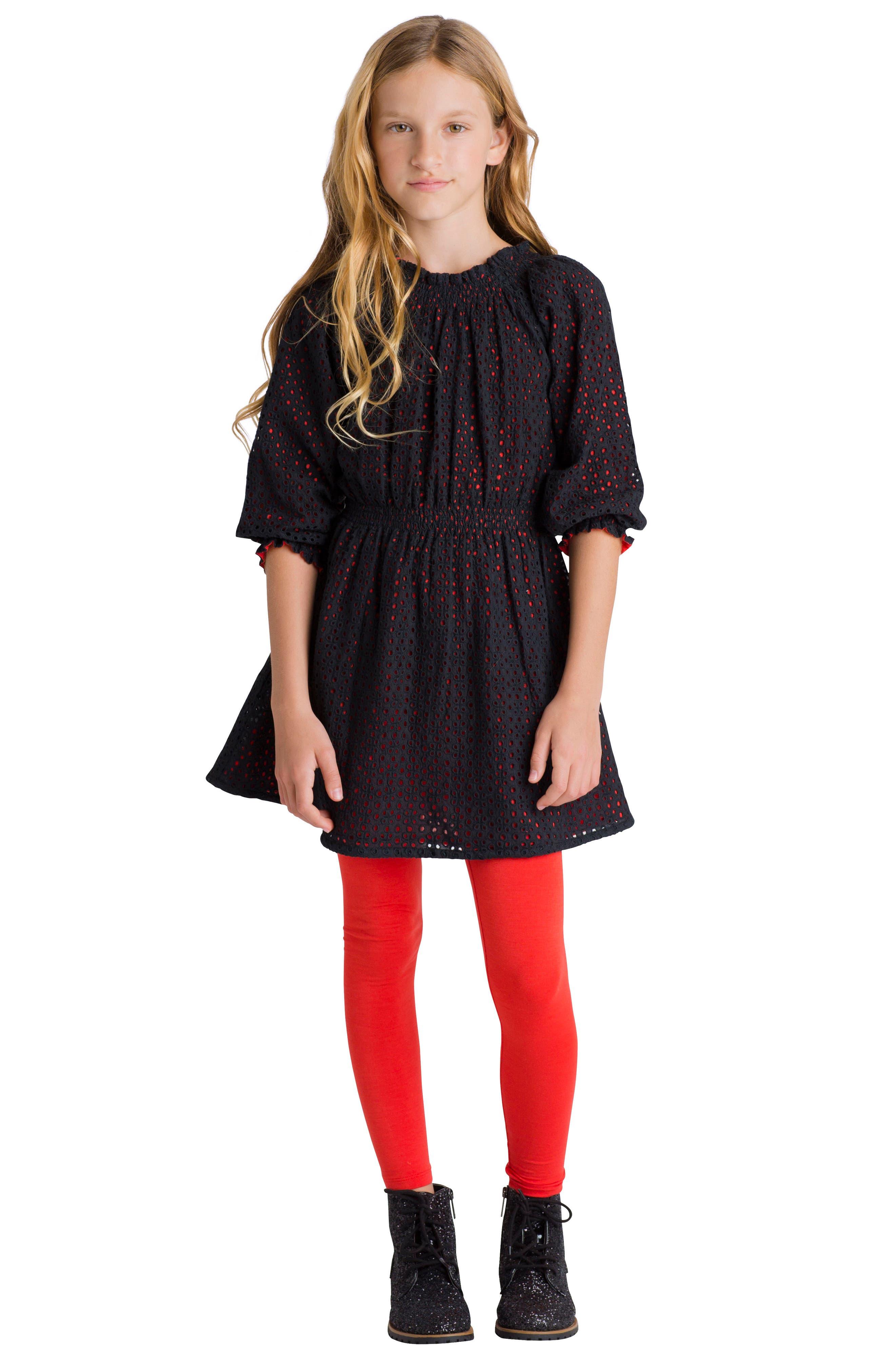 Spellbound Dress,                             Alternate thumbnail 2, color,                             Black