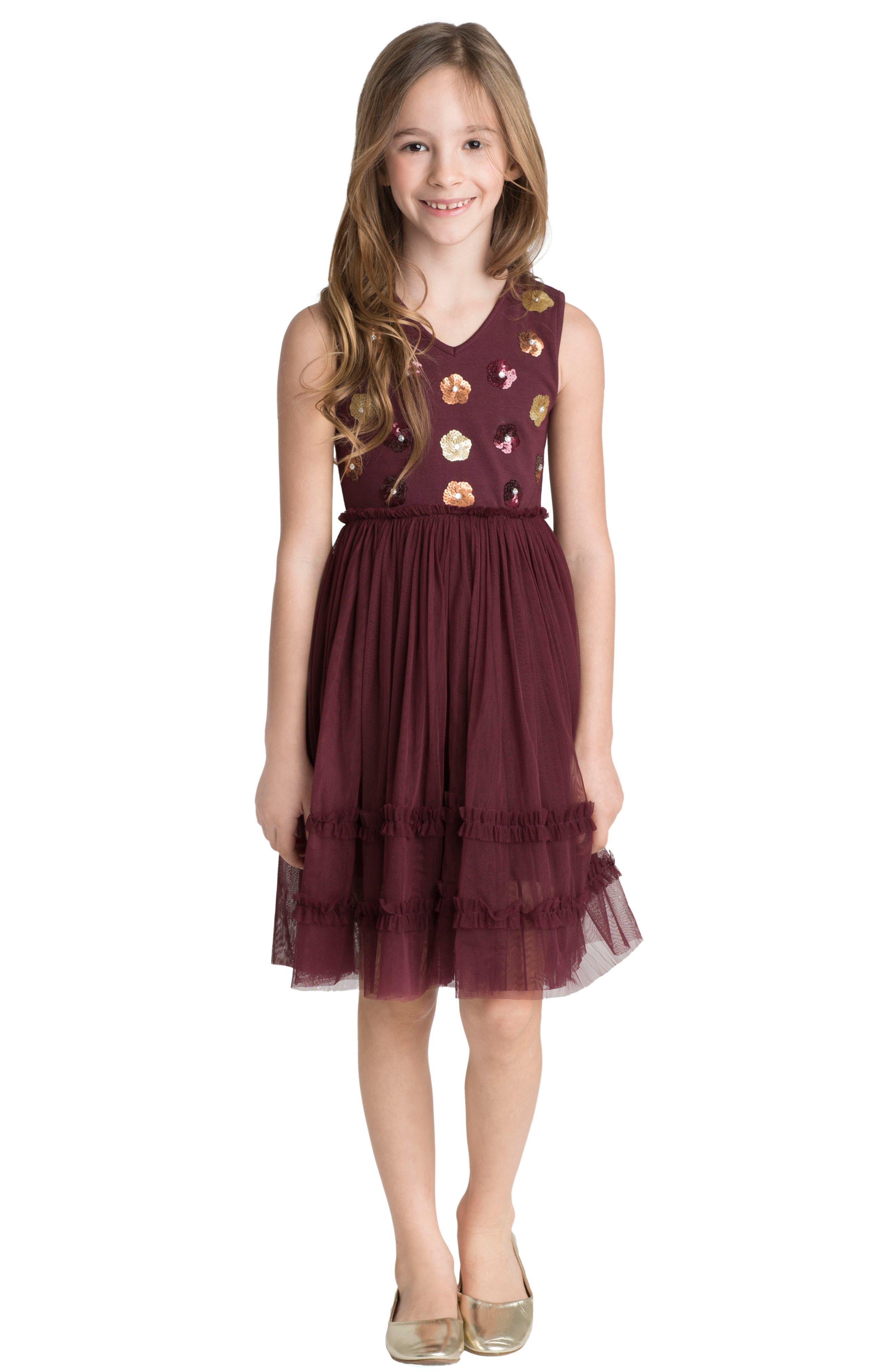 Alternate Image 2  - Masalababy Liana Dress (Toddler Girls, Little Girls & Big Girls)