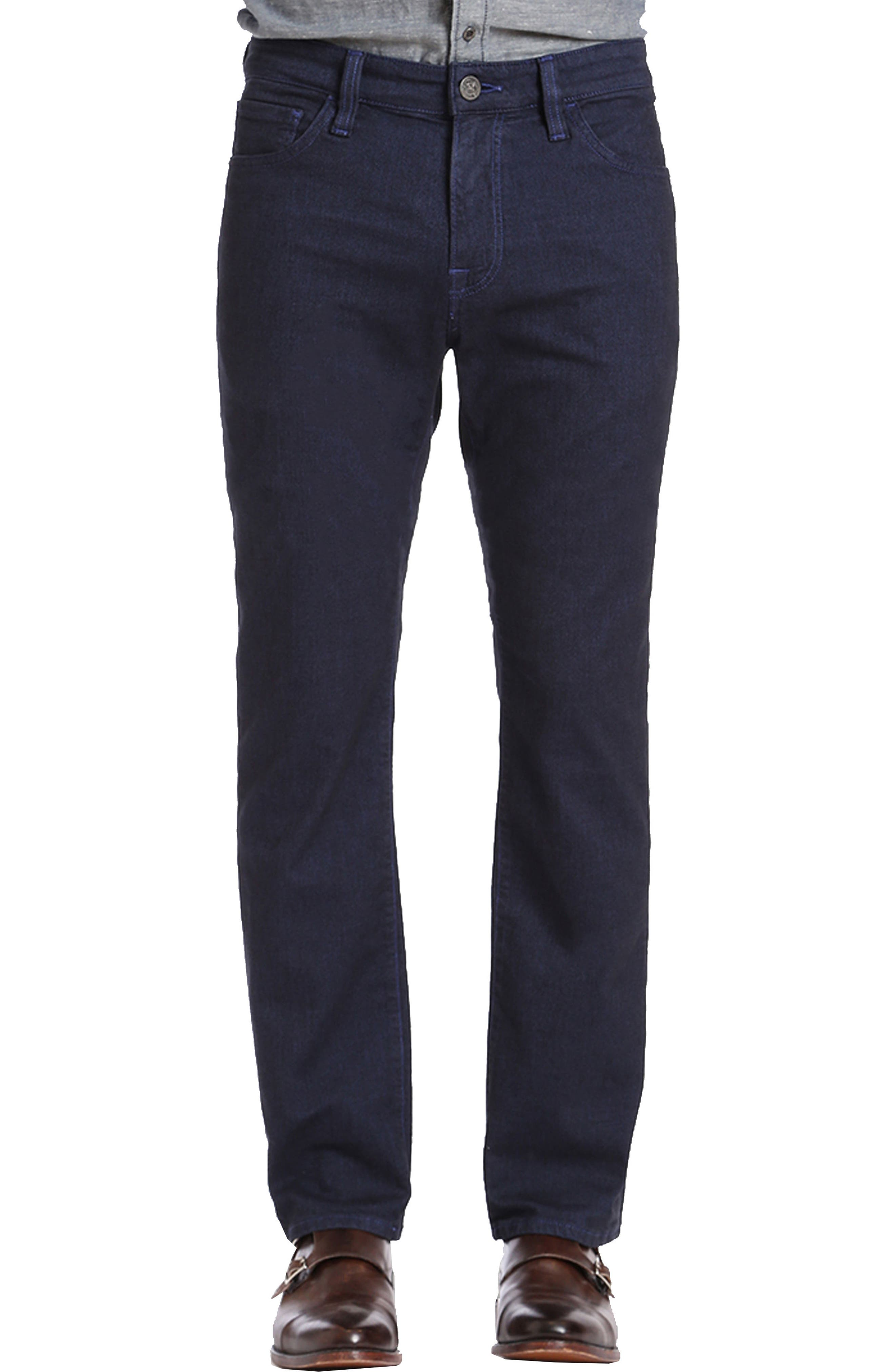 Main Image - 34 Heritage Courage Straight Leg Jeans (Indigo Brushed)