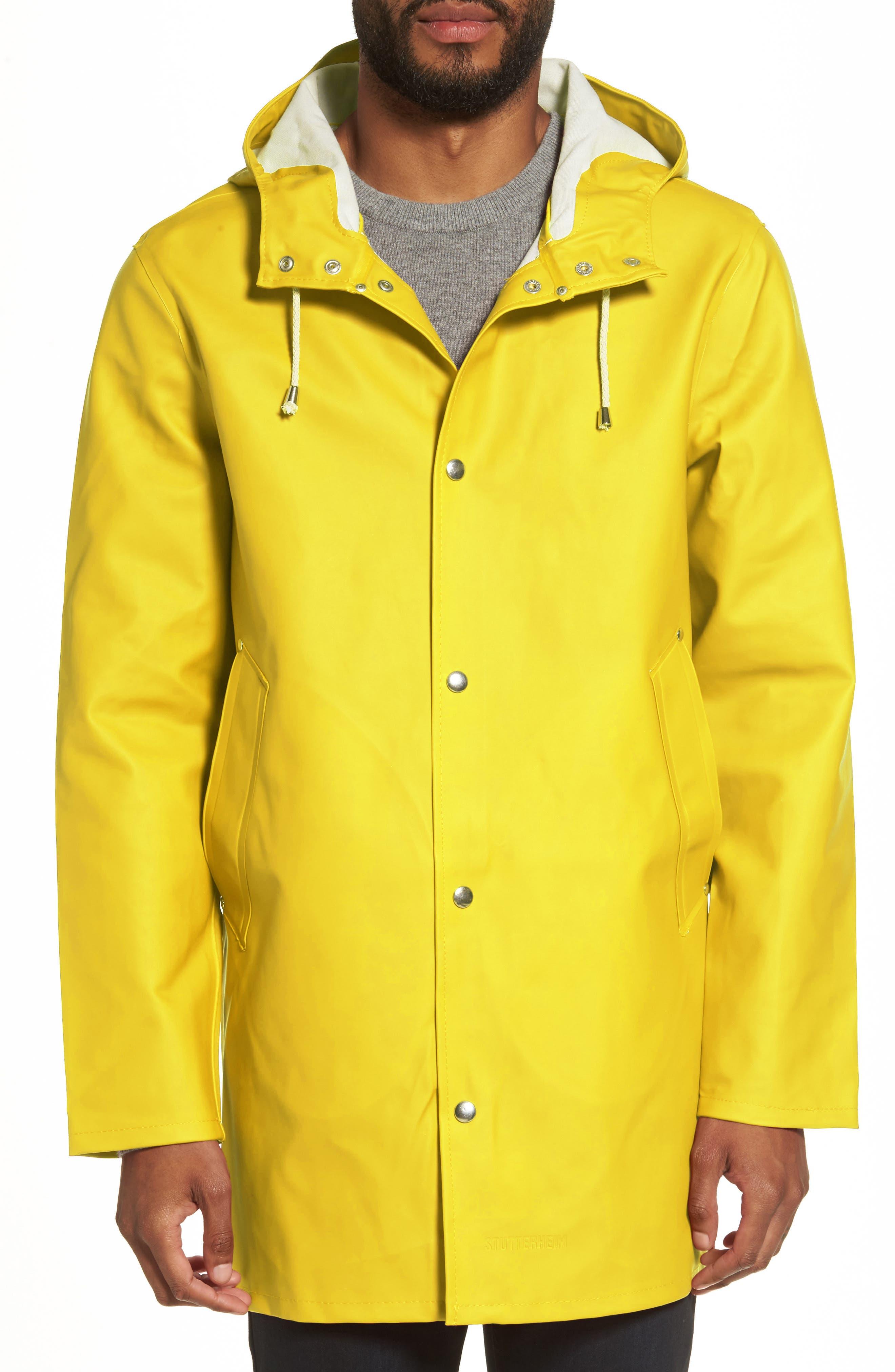 Main Image - Stutterheim Stockholm Waterproof Hooded Raincoat