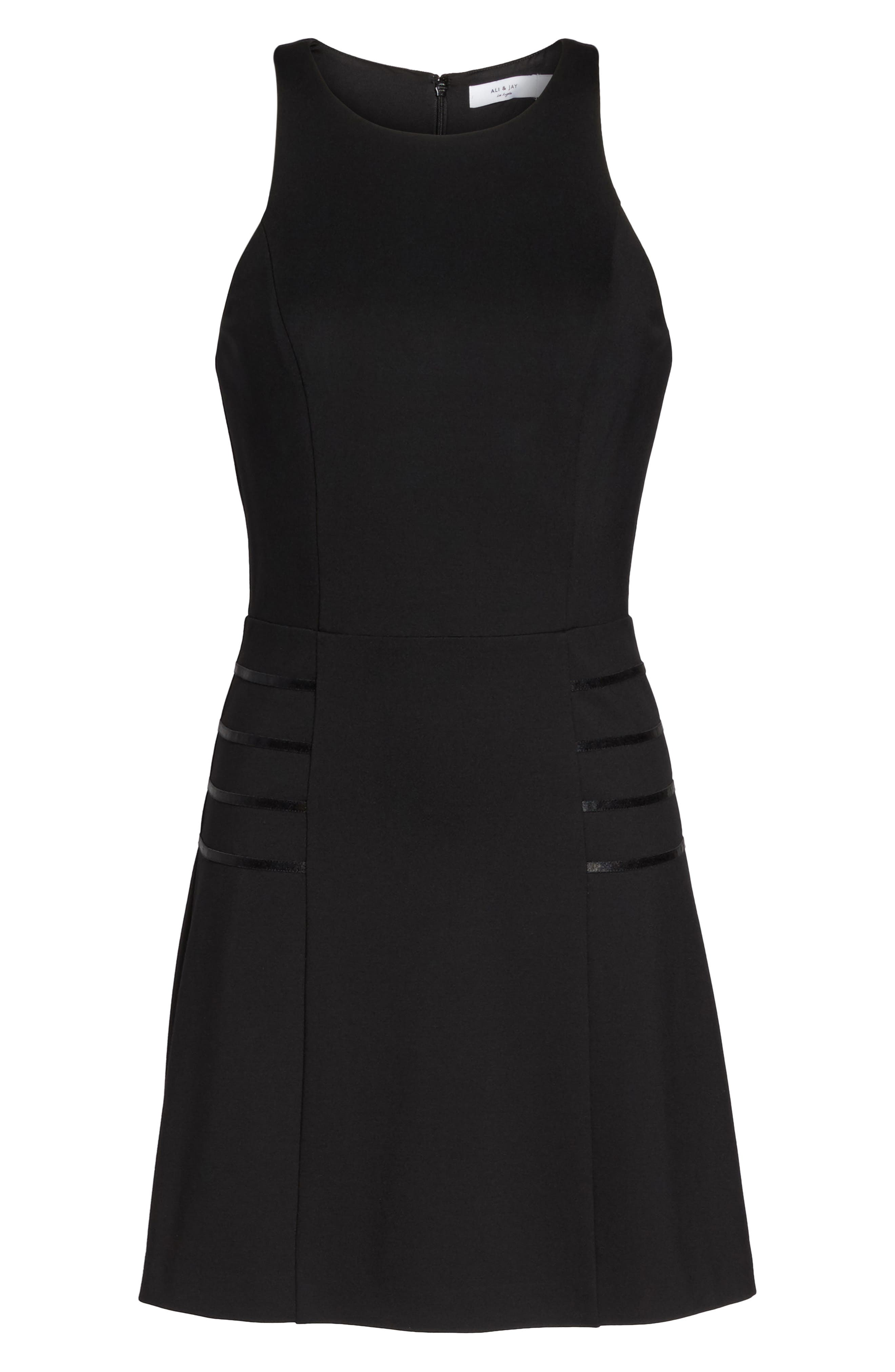 Imma Do Me Minidress,                             Alternate thumbnail 7, color,                             Black