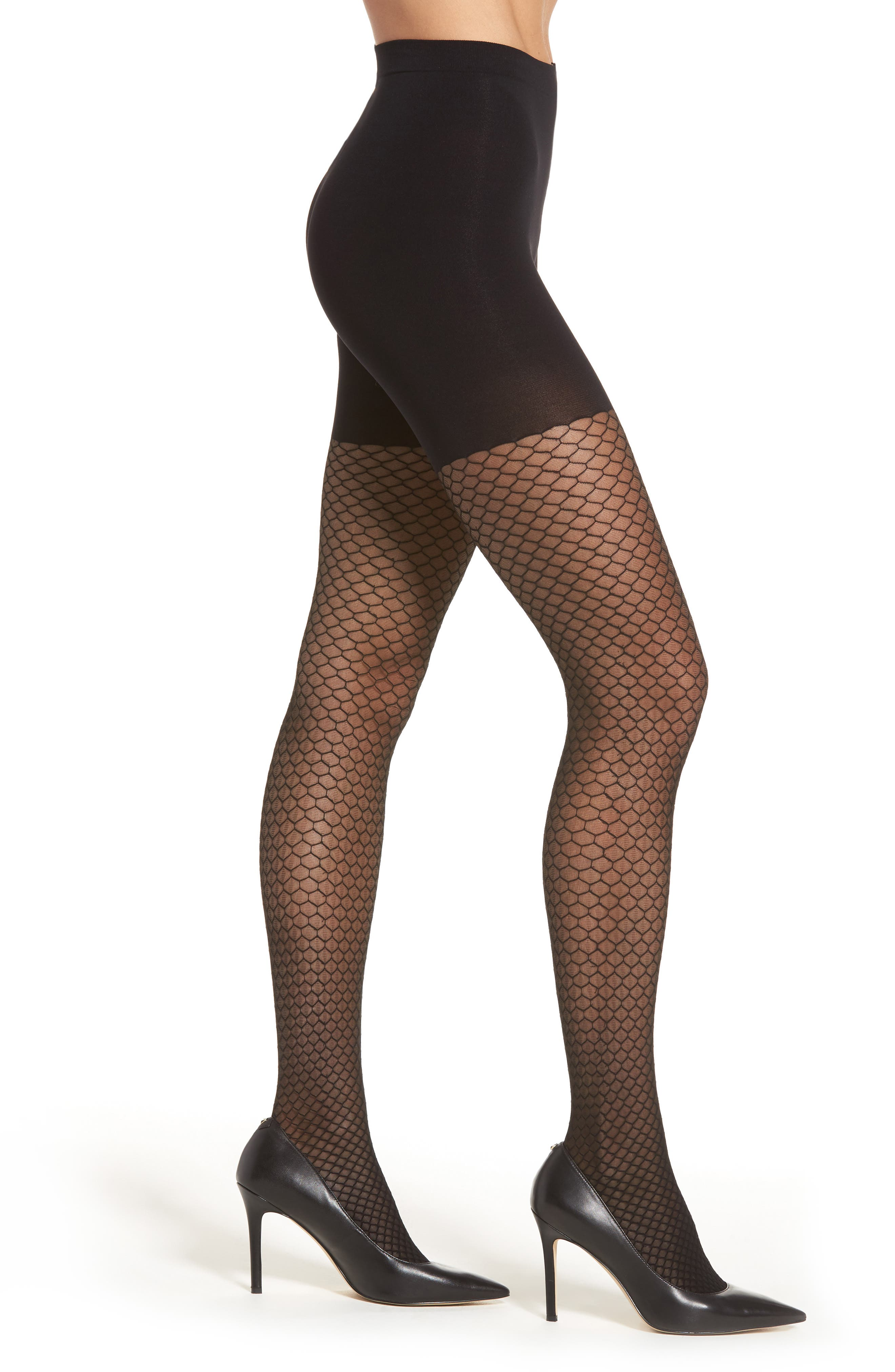 Alternate Image 1 Selected - SPANX® Honeycomb Shaper Tights