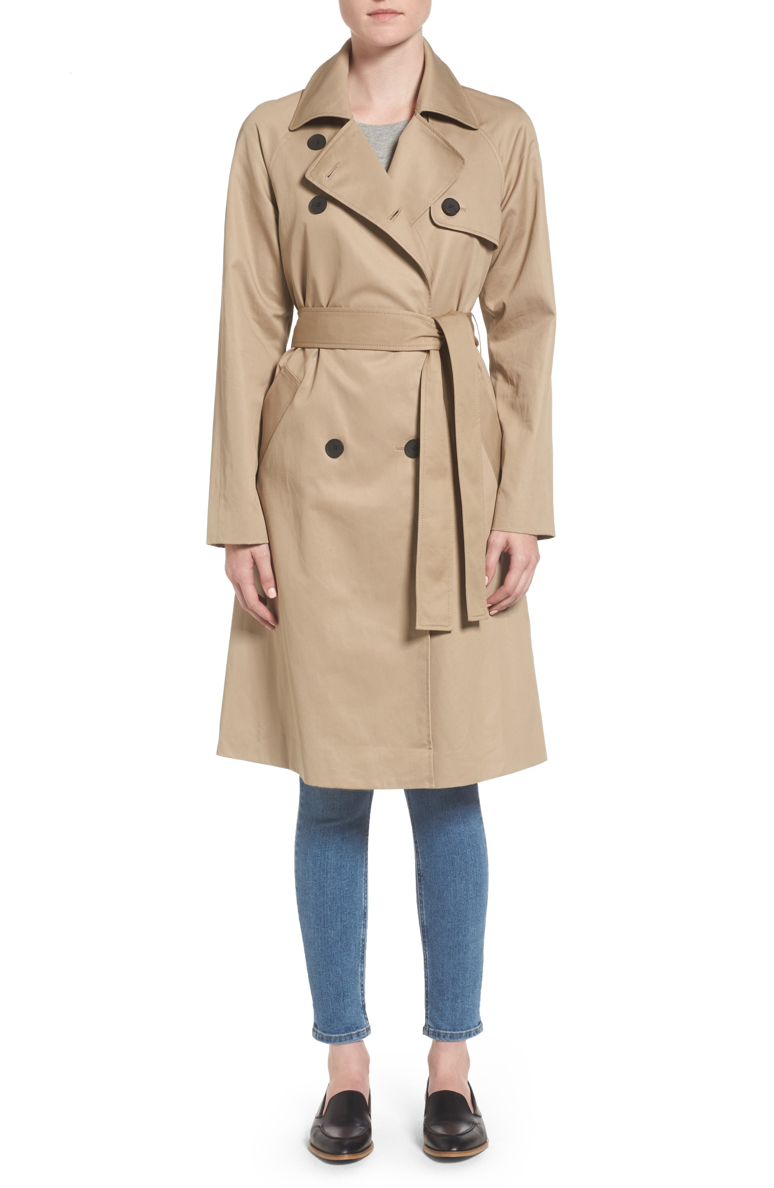 Alternate Image 1 Selected - Everlane The Drape Trench Coat