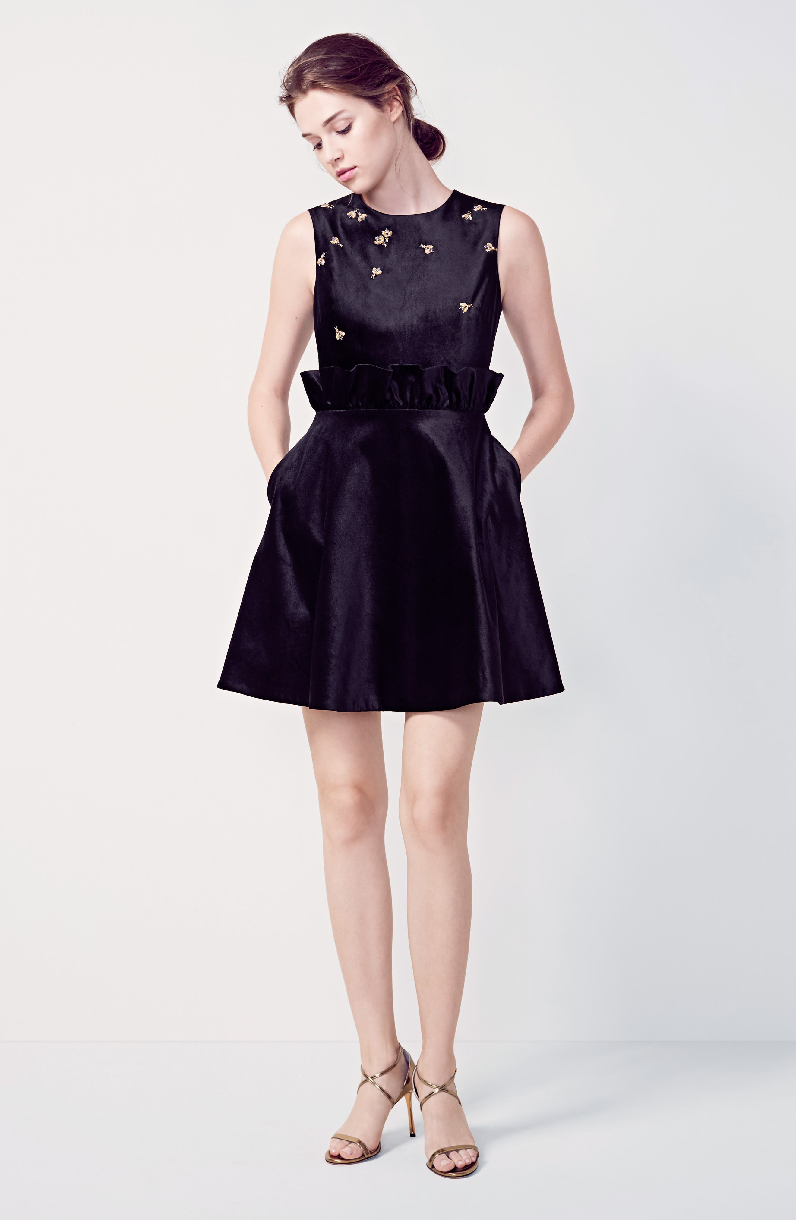 Dress lace dress long dress black dress sequins lace blue dress - Dress Lace Dress Long Dress Black Dress Sequins Lace Blue Dress 7