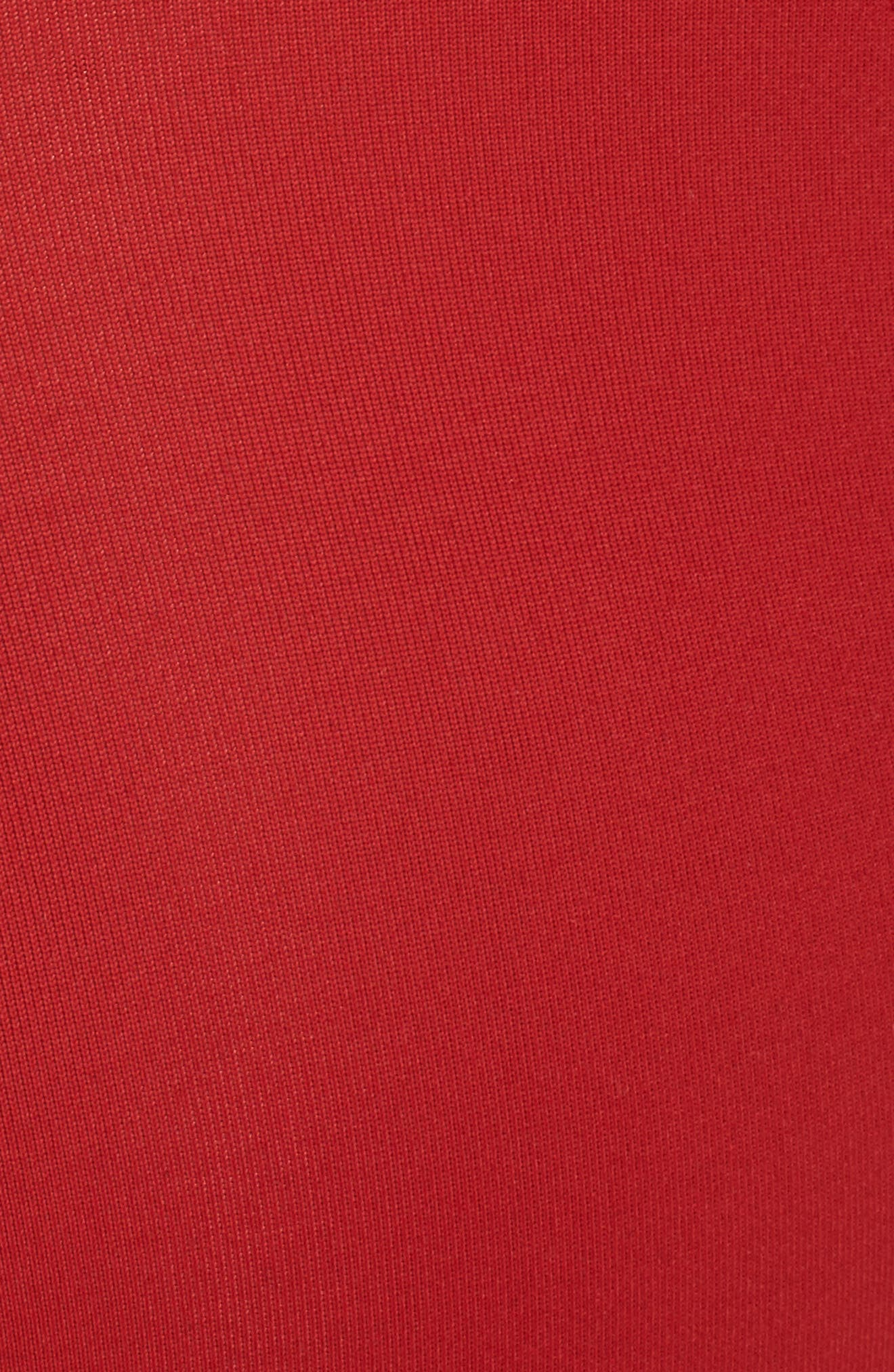Good Body Core Ballet Thong Bodysuit,                             Alternate thumbnail 5, color,                             Red 001