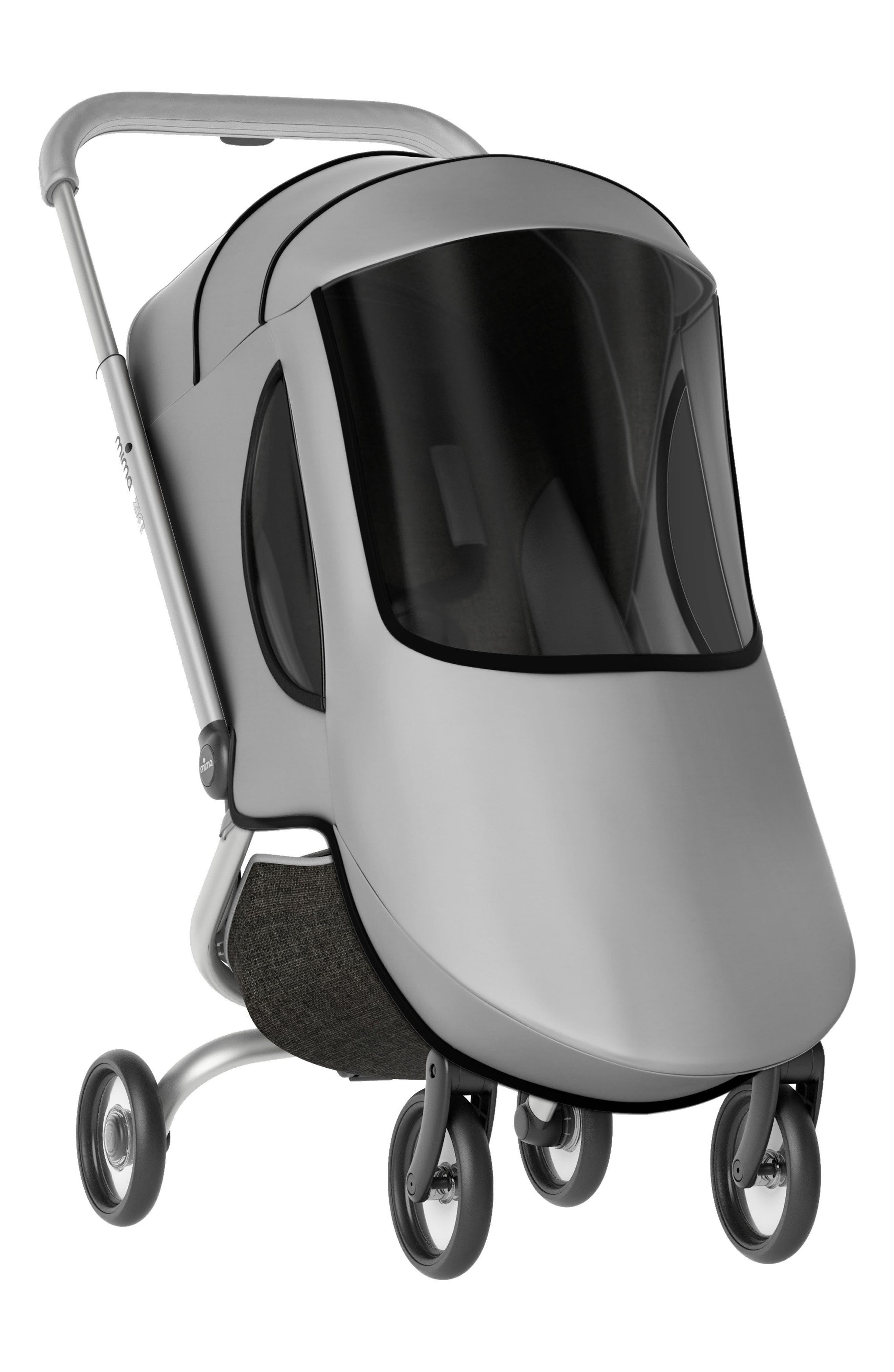 Raincover for Zigi Travel Stroller,                         Main,                         color, Silver