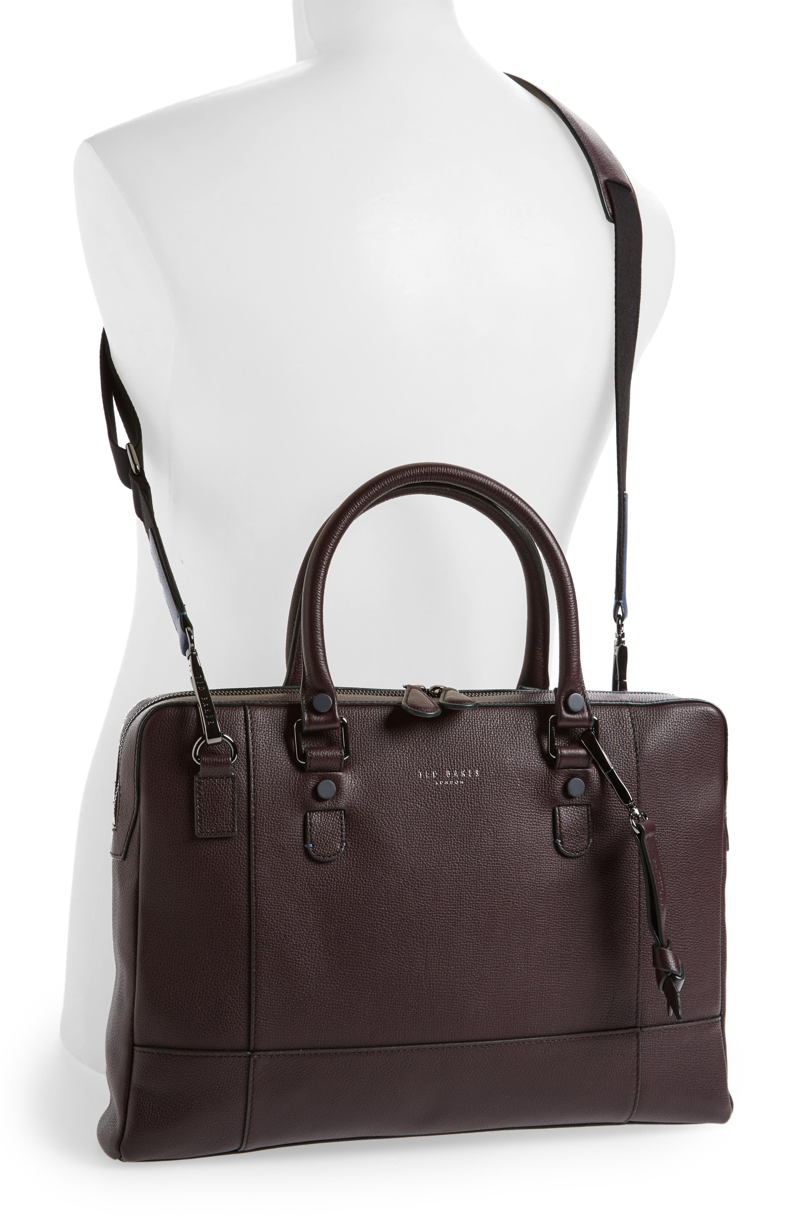 Alternate Image 2  - Ted Baker London Jager Leather Briefcase