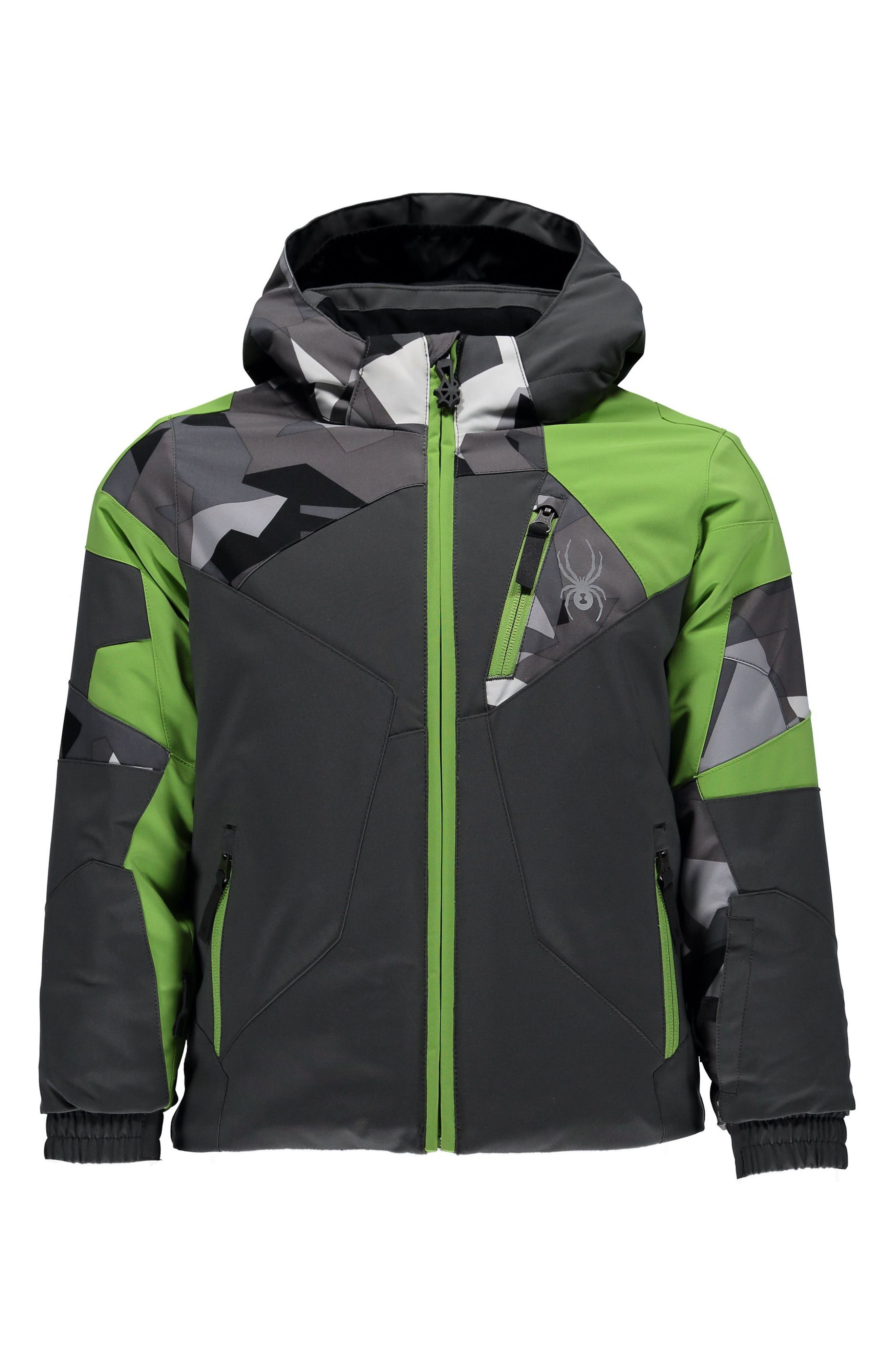Main Image - Spyder Mini Leader Insulated Jacket (Toddler Boys & Little Boys)