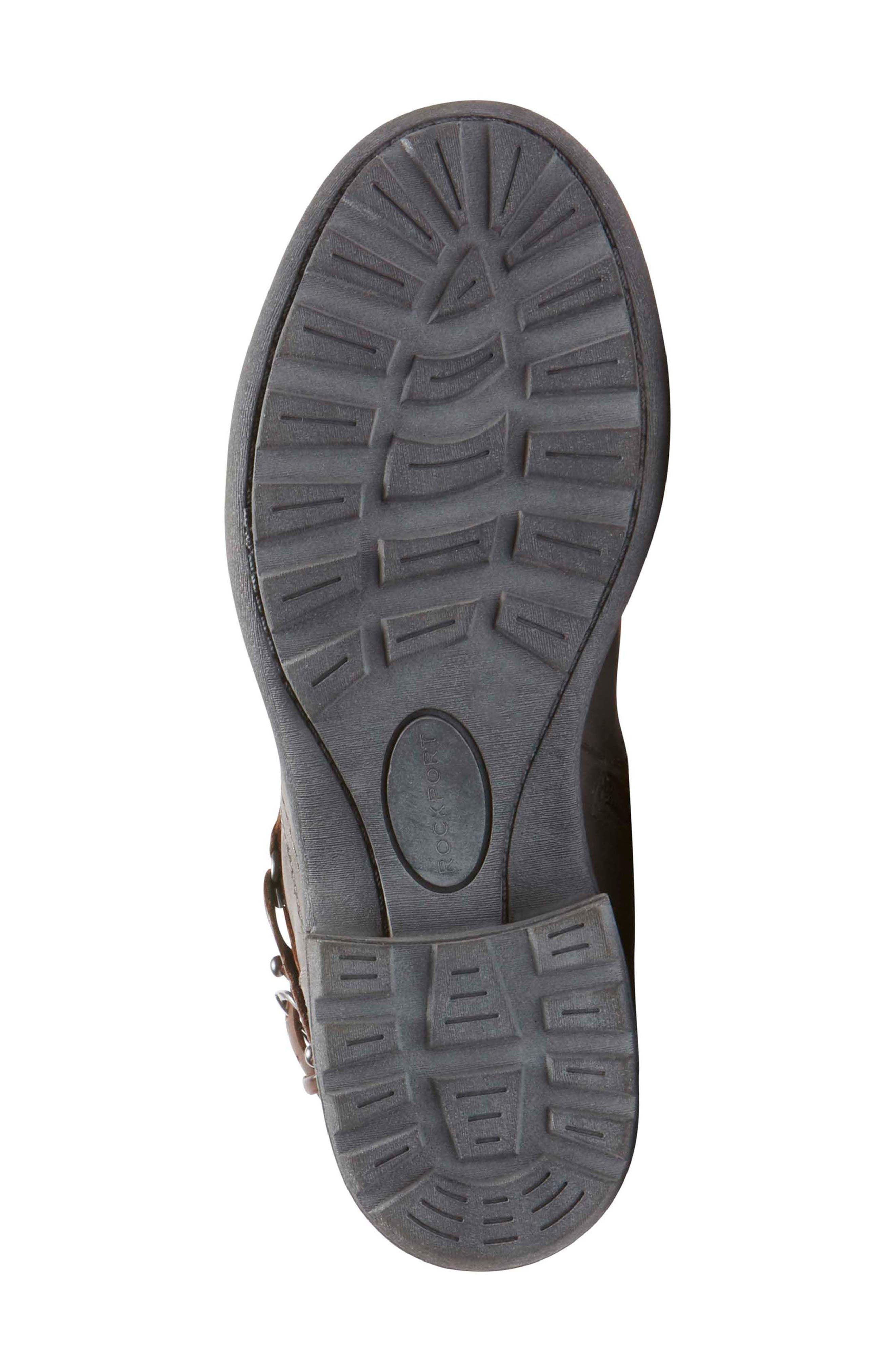 Brunswick Boot,                             Alternate thumbnail 6, color,                             Dark Grey Leather