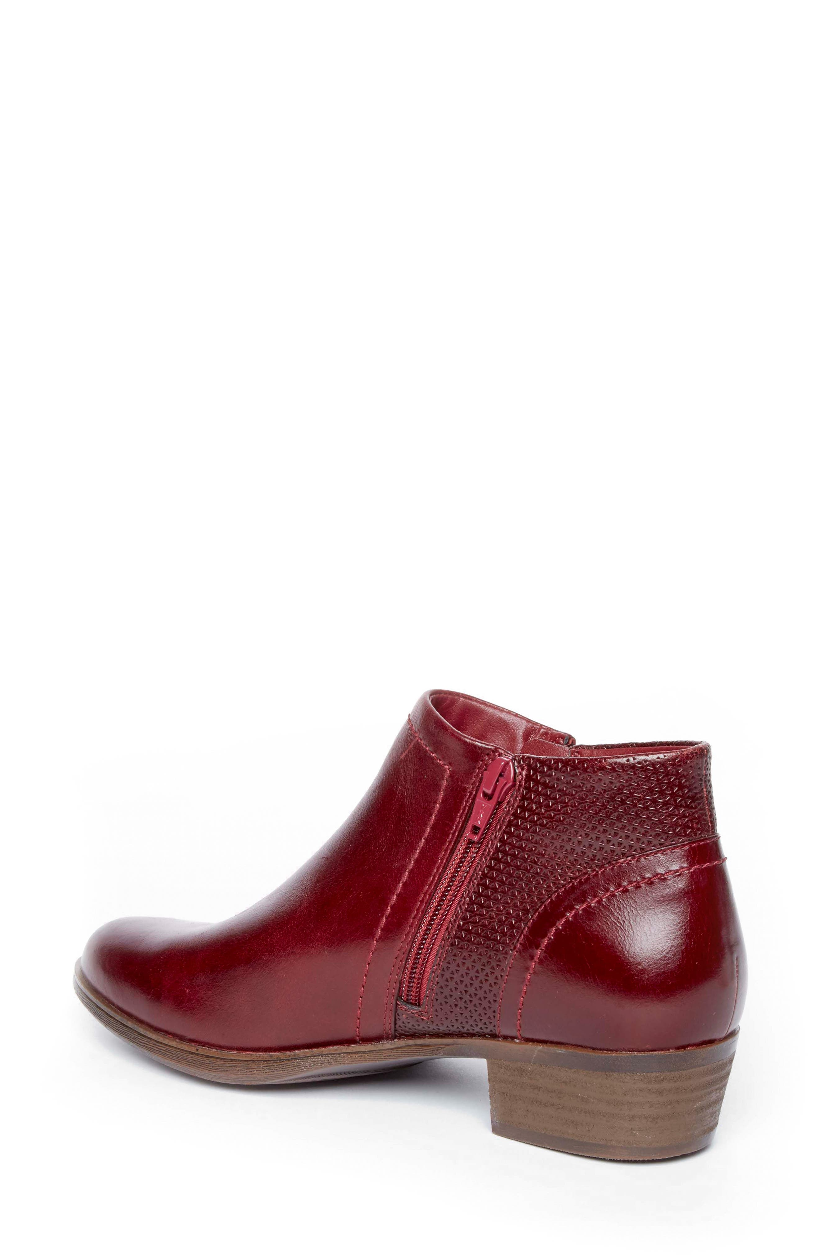 Oliana Bootie,                             Alternate thumbnail 2, color,                             Inferno Leather