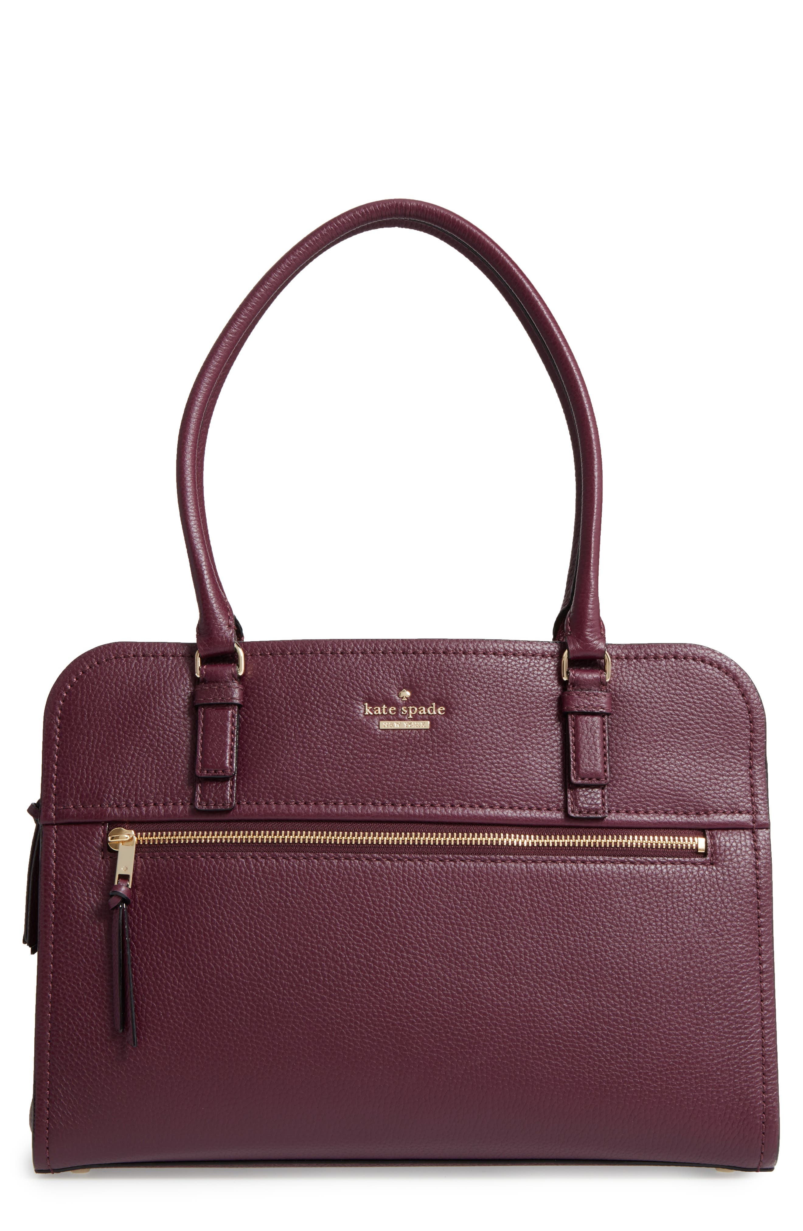 Kate Spade New York Tote Bags For Women Leather Coated Canvas