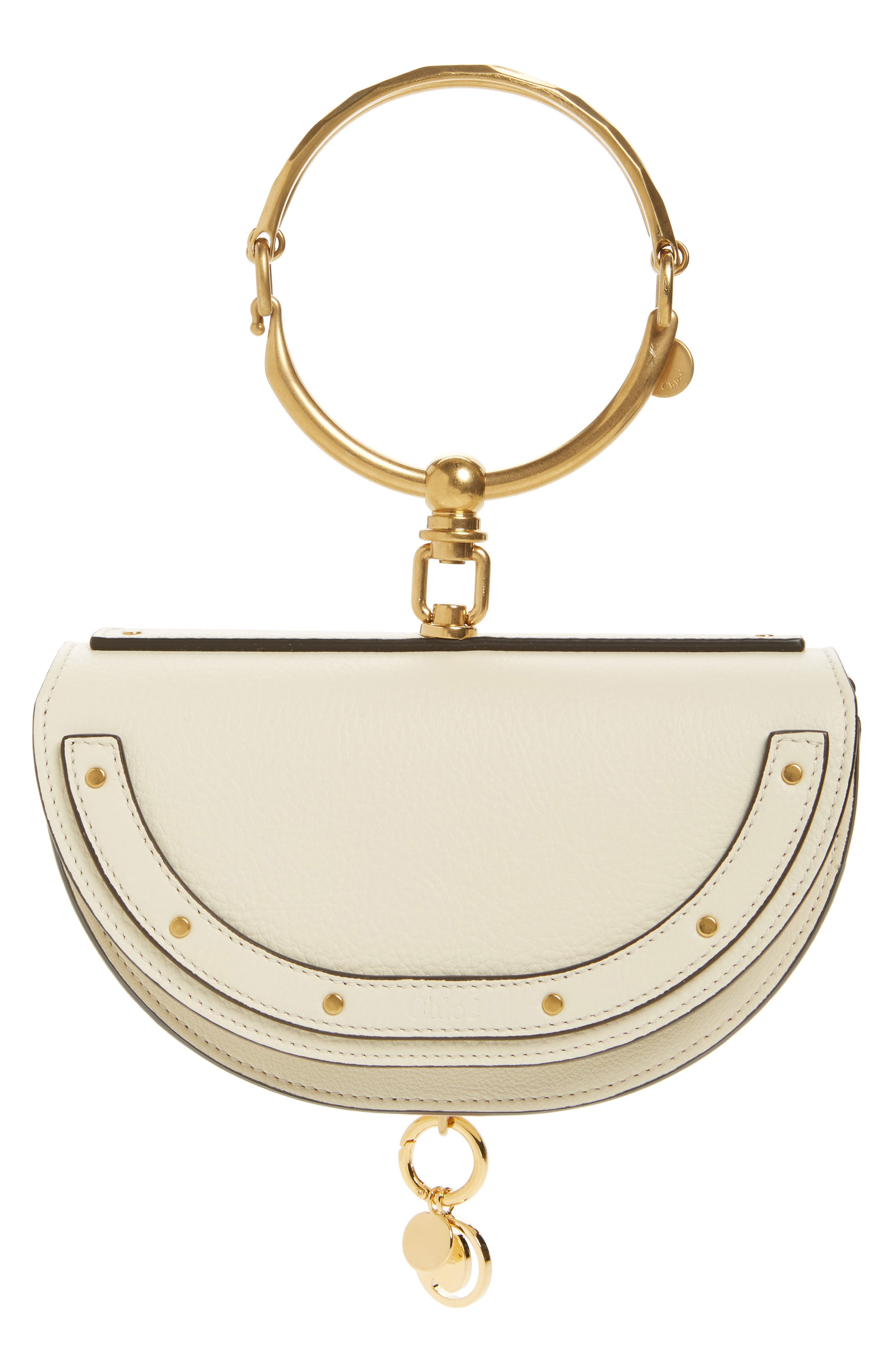 Main Image - Chloé Small Nile Bracelet Calfskin Leather Minaudiere