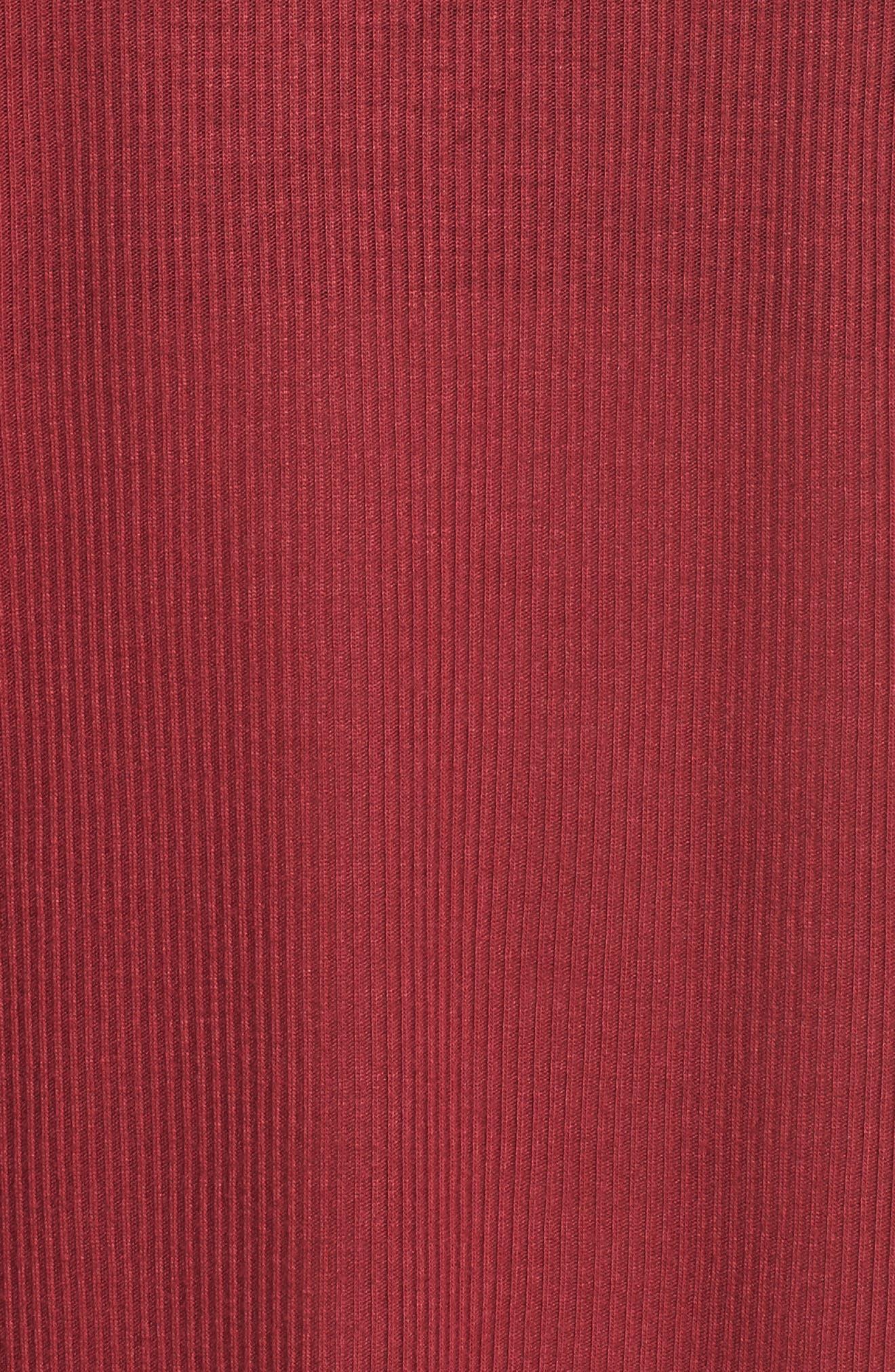Heat Wave Tank,                             Alternate thumbnail 9, color,                             Red Velvet/ Black