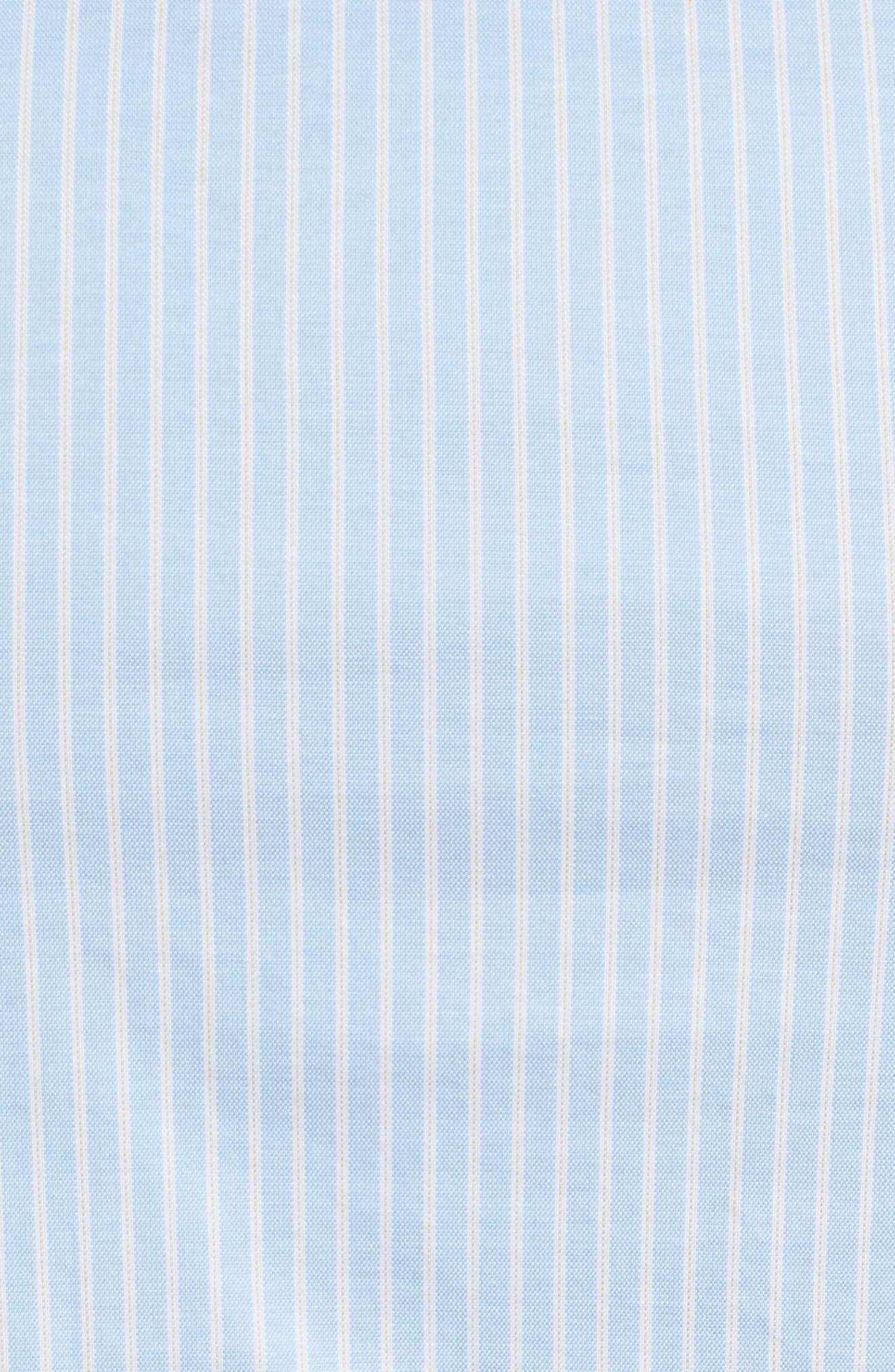 Alternate Image 5  - Lacoste Slim Fit Stripe Shirt