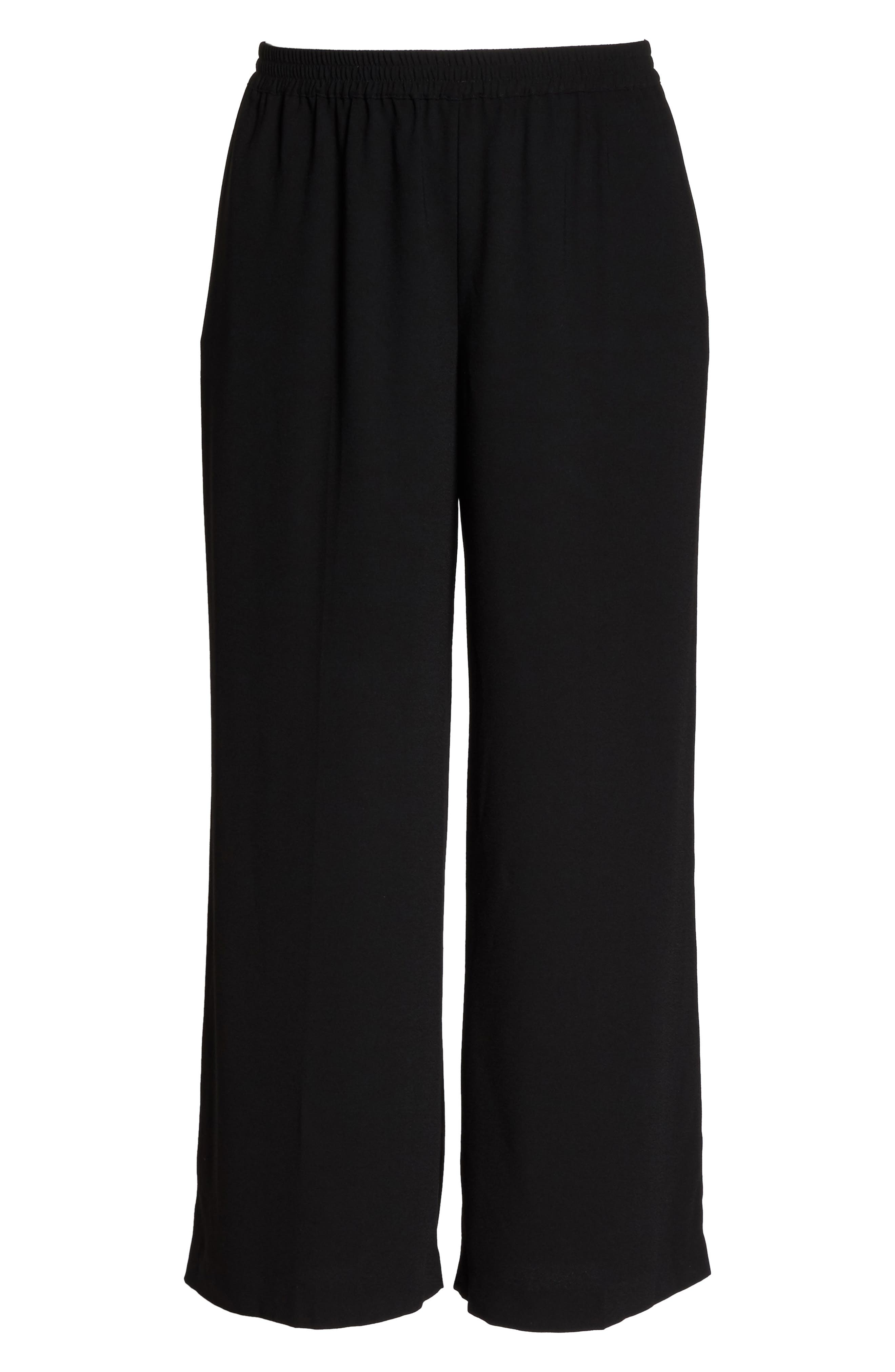 Alternate Image 6  - Vince Camuto Wide Leg Crepe Pants (Plus Size)