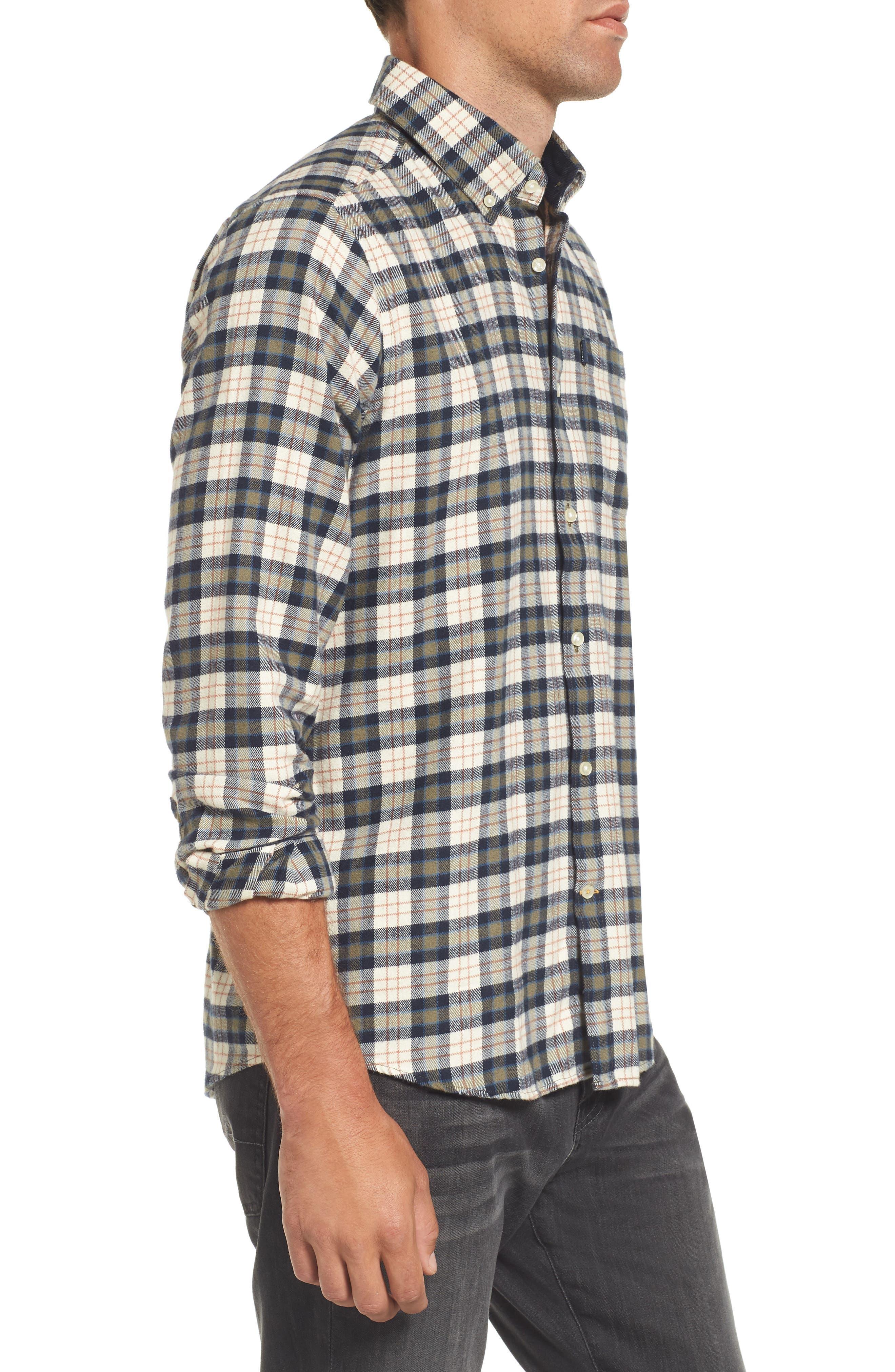 Alternate Image 3  - Barbour Blake Plaid Sport Shirt