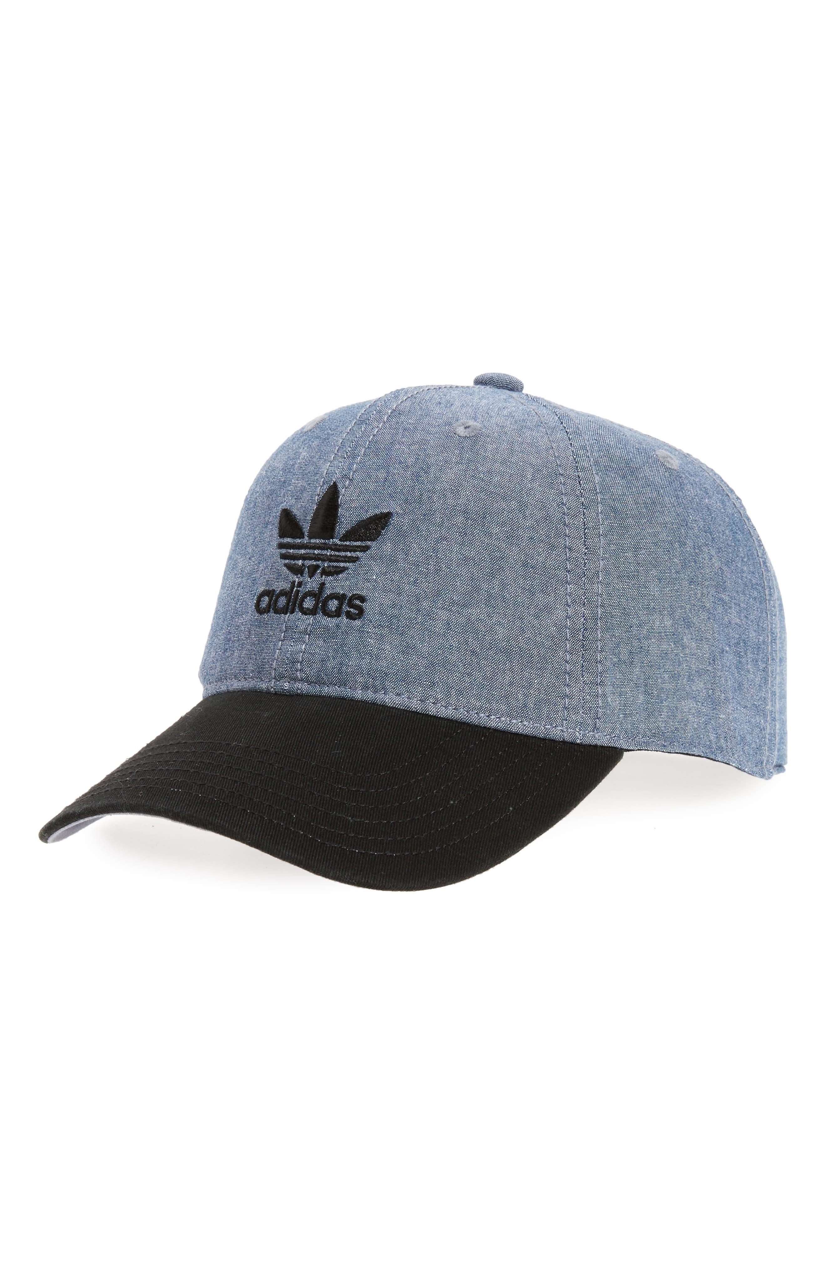 Relaxed Snapback Baseball Cap,                         Main,                         color, Medium Blue