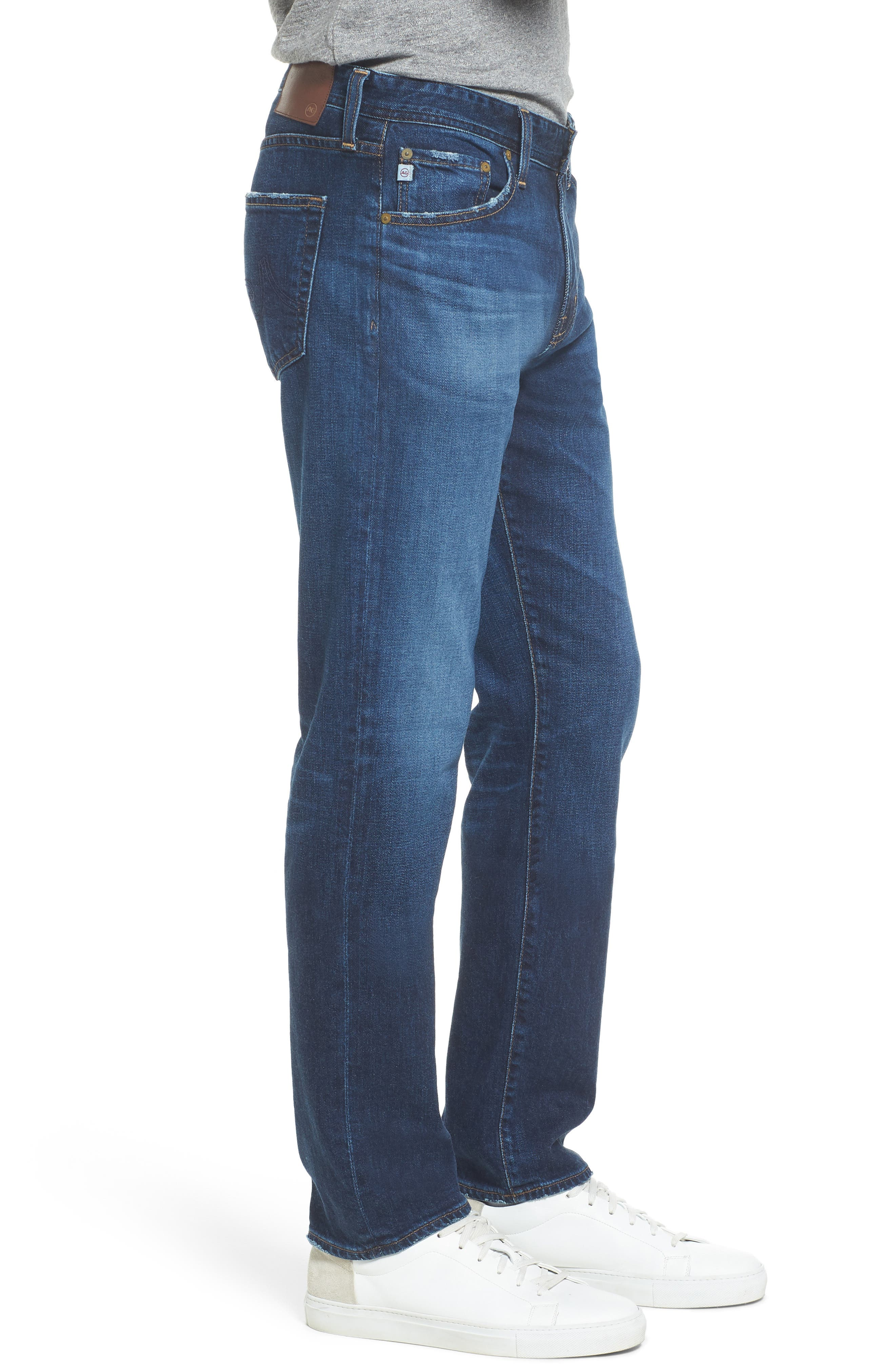 Alternate Image 3  - AG Graduate Slim Straight Leg Jeans (9 Years Aflame)