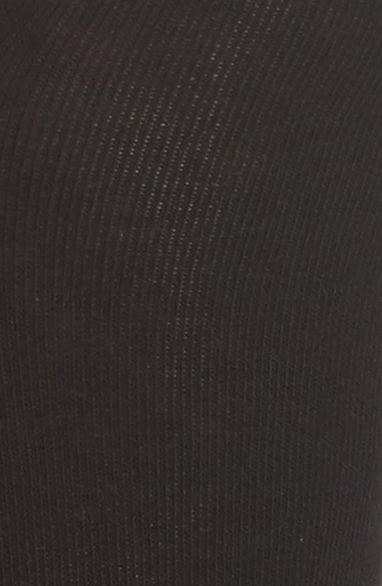 Alternate Image 2  - Hue Embroidered Heart Ankle Socks