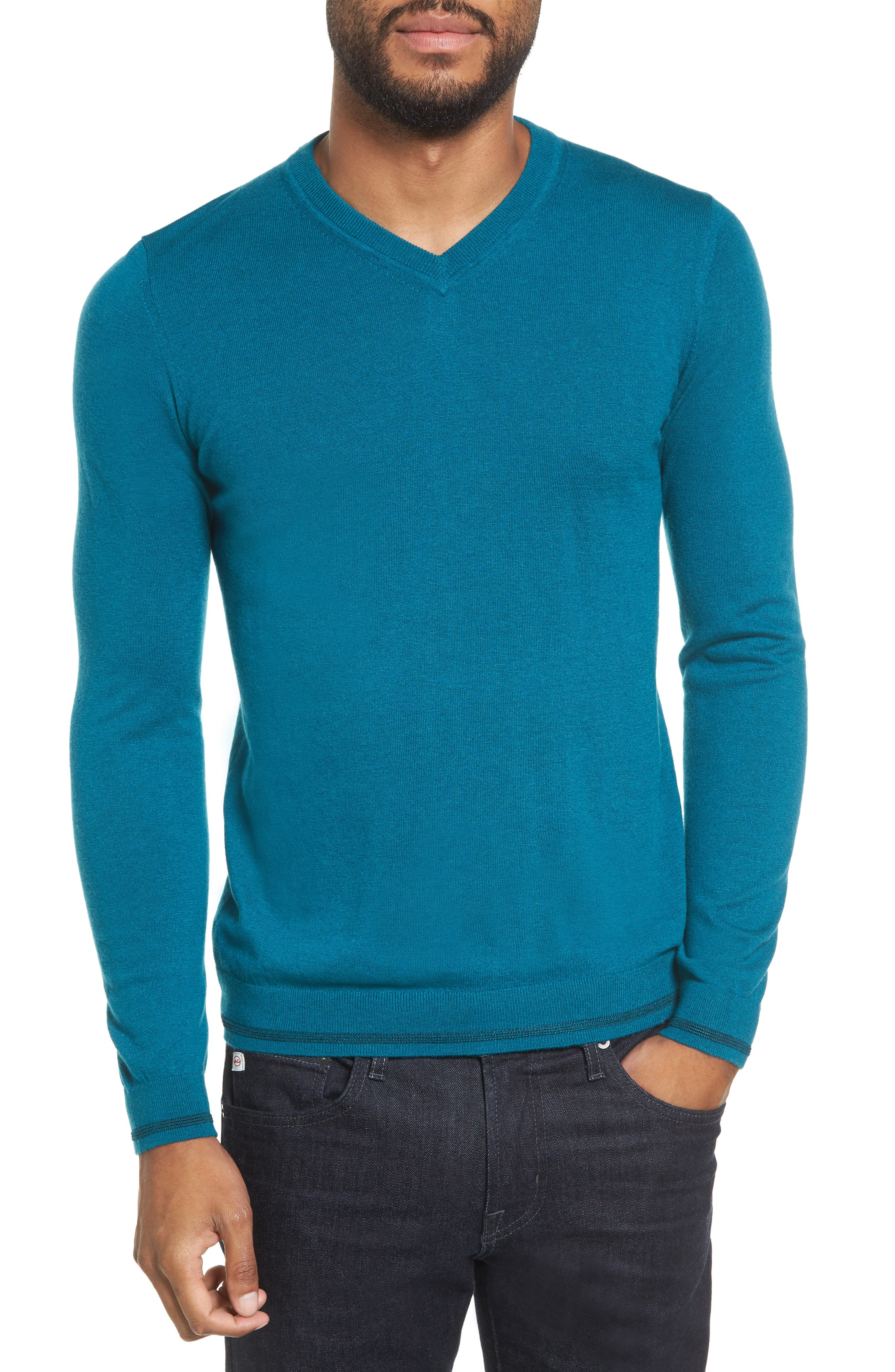 Alternate Image 1 Selected - Ted Baker London V-Neck Sweater