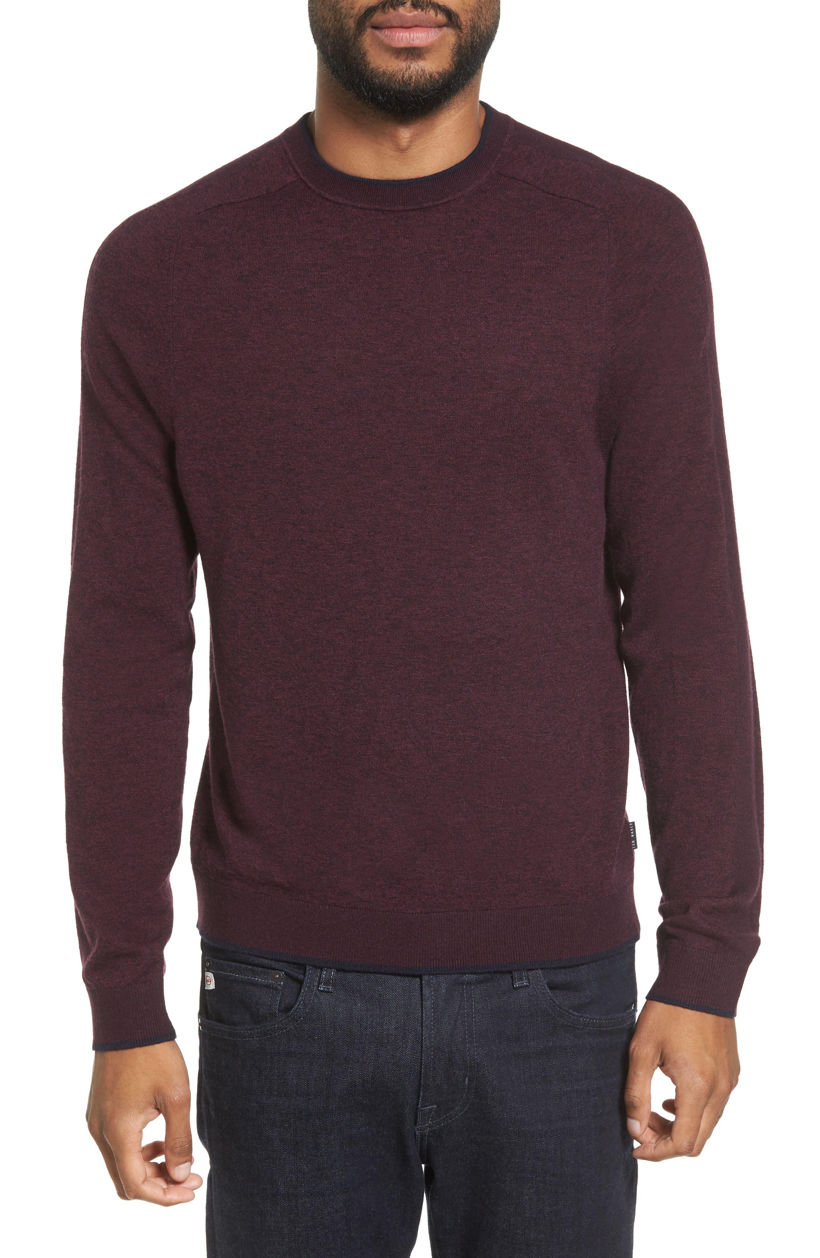 Main Image - Ted Baker London Norpol Crewneck Sweater