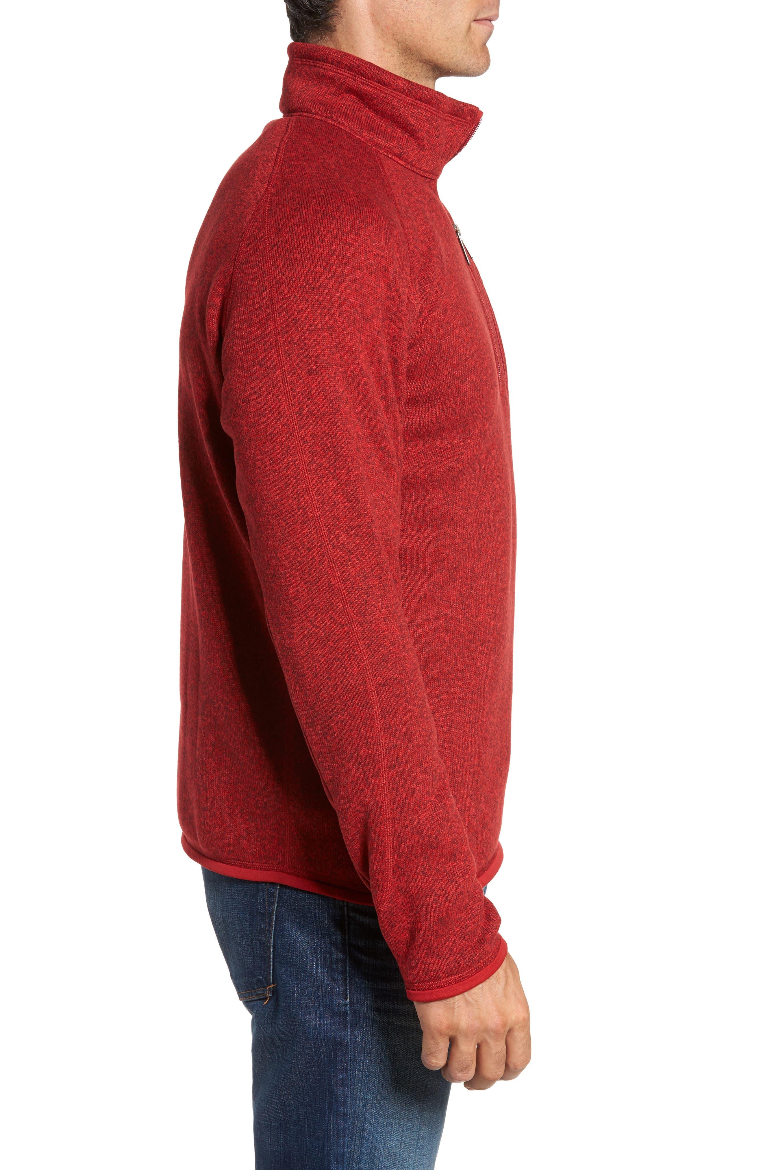 Alternate Image 3  - Patagonia 'Better Sweater' Quarter Zip Pullover