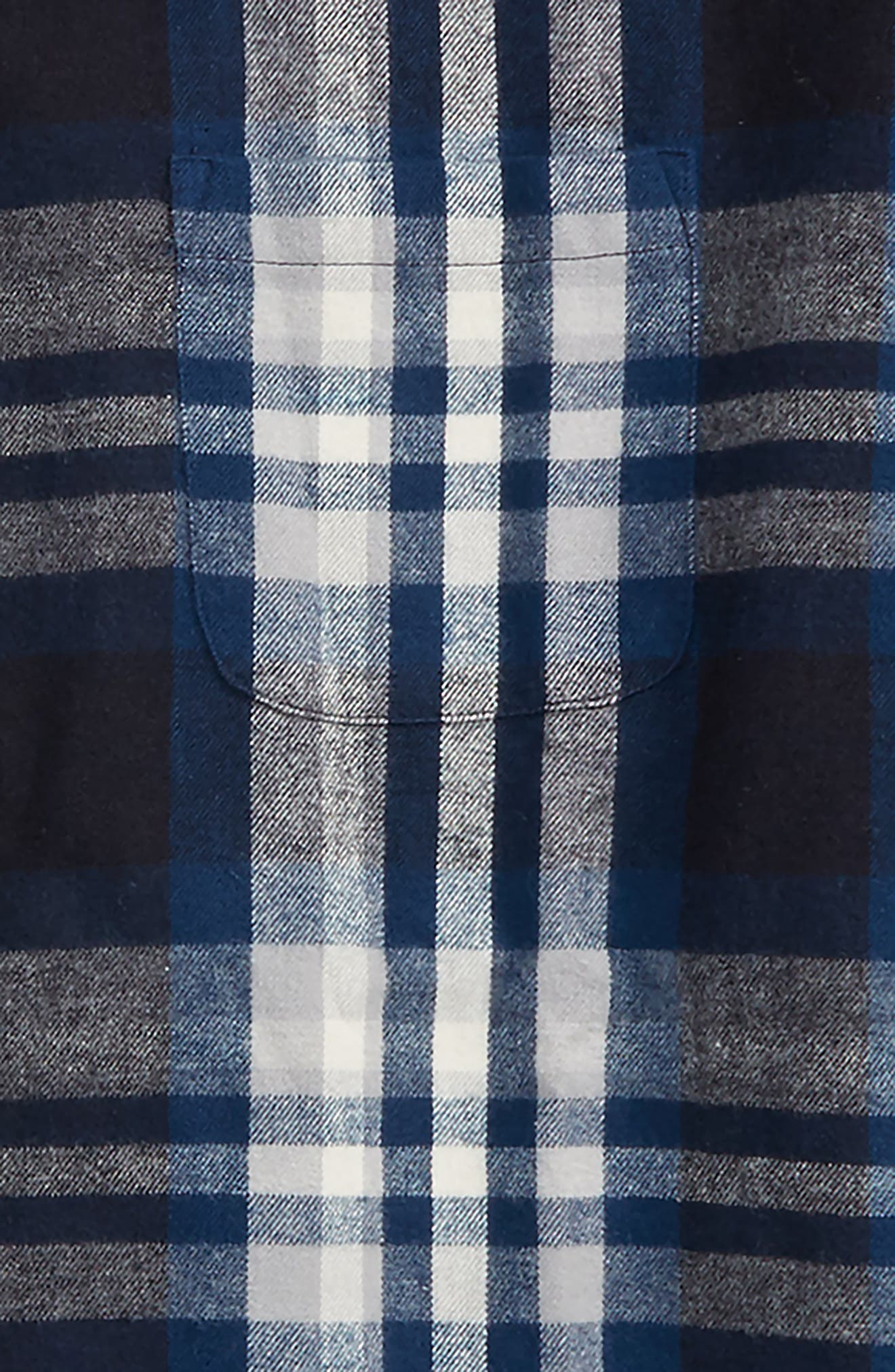 Standford Flannel Shirt,                             Alternate thumbnail 2, color,                             Indigo Sand