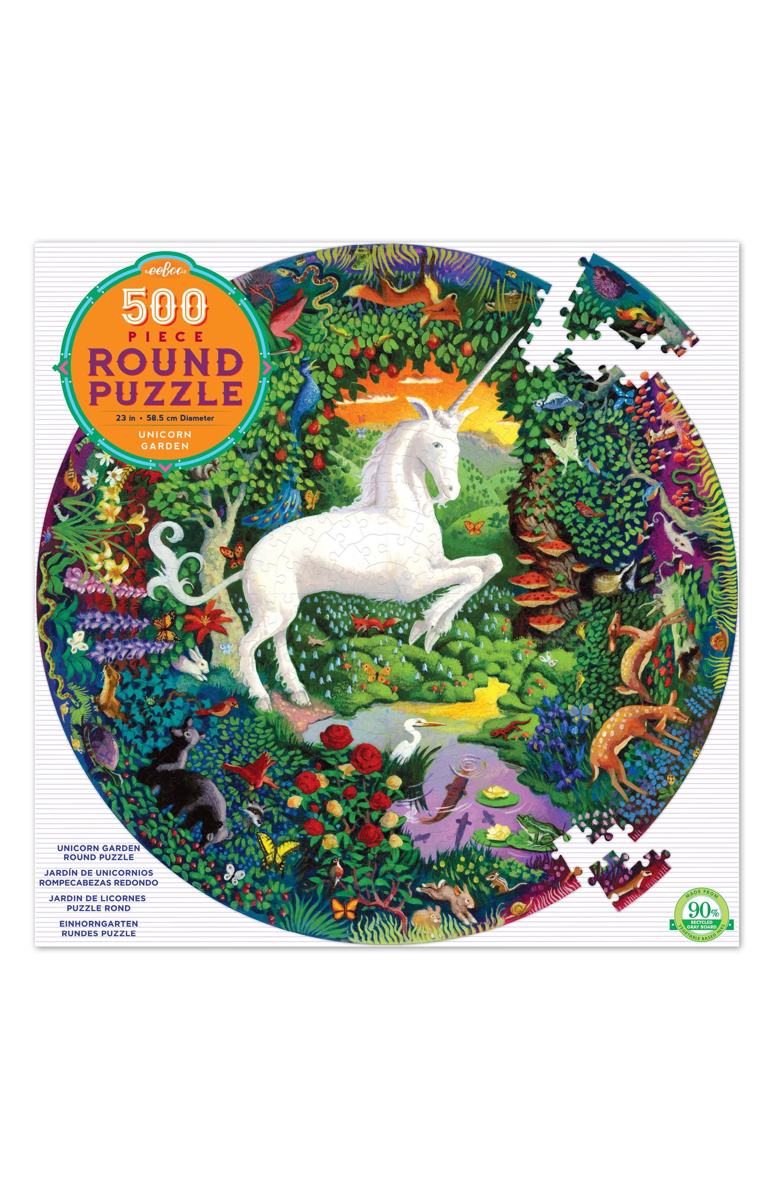 eeBoo Unicorn Jigsaw Puzzle