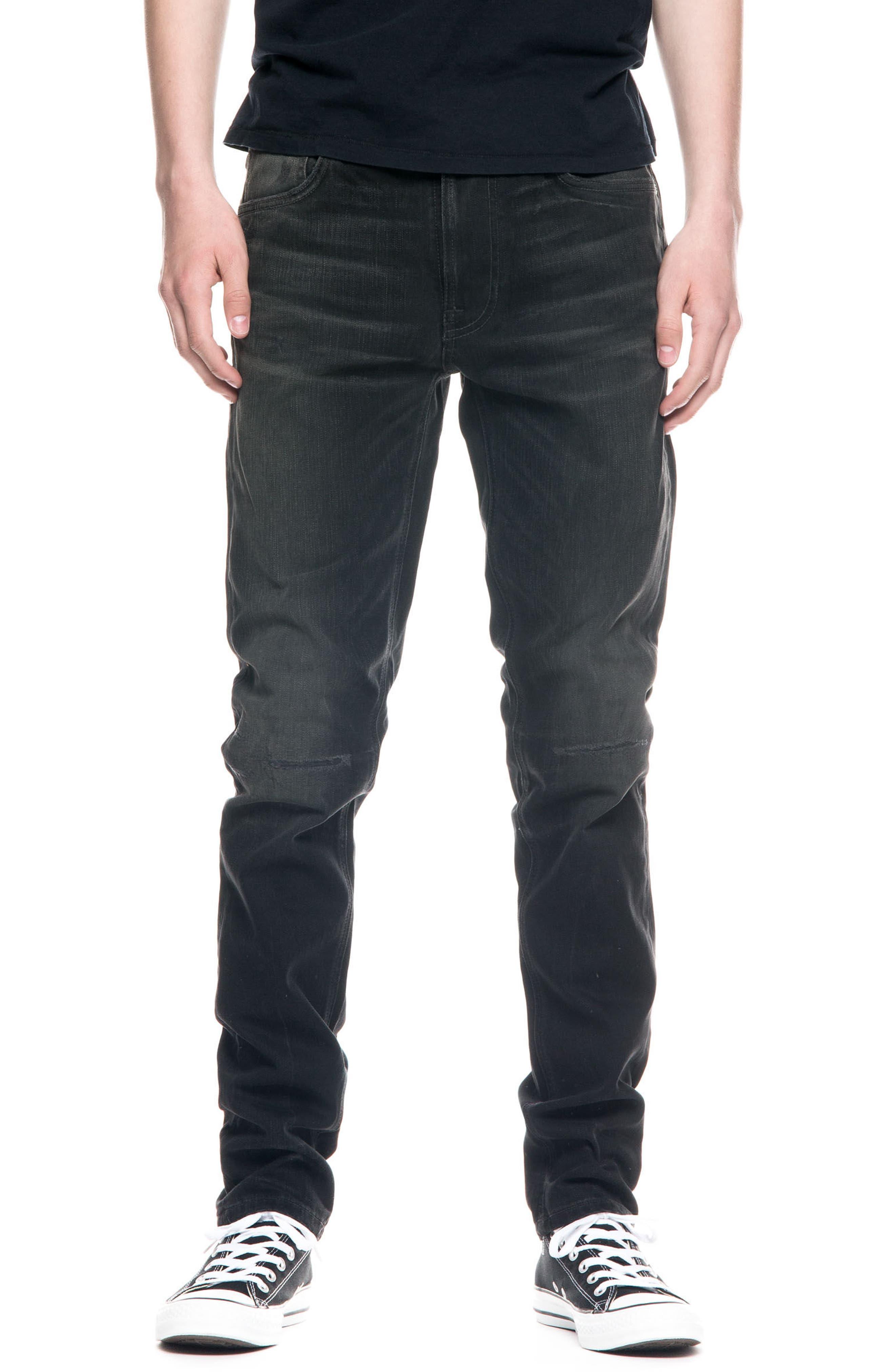 Alternate Image 1 Selected - Nudie Jeans Lean Dean Slouchy Slim Fit Jeans (Johan Replica)