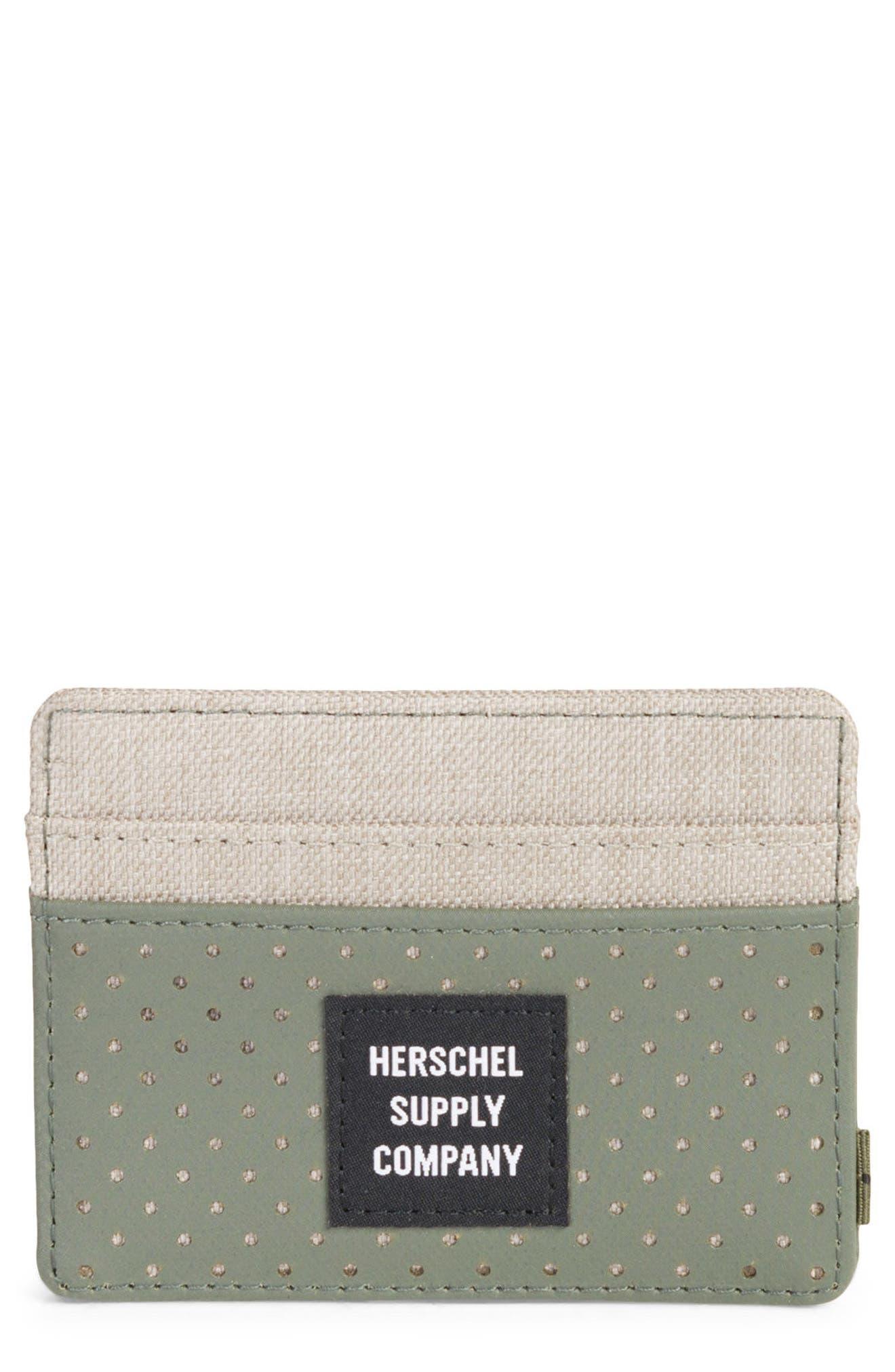 Herschel Supply Co. Charlie Aspect Card Case