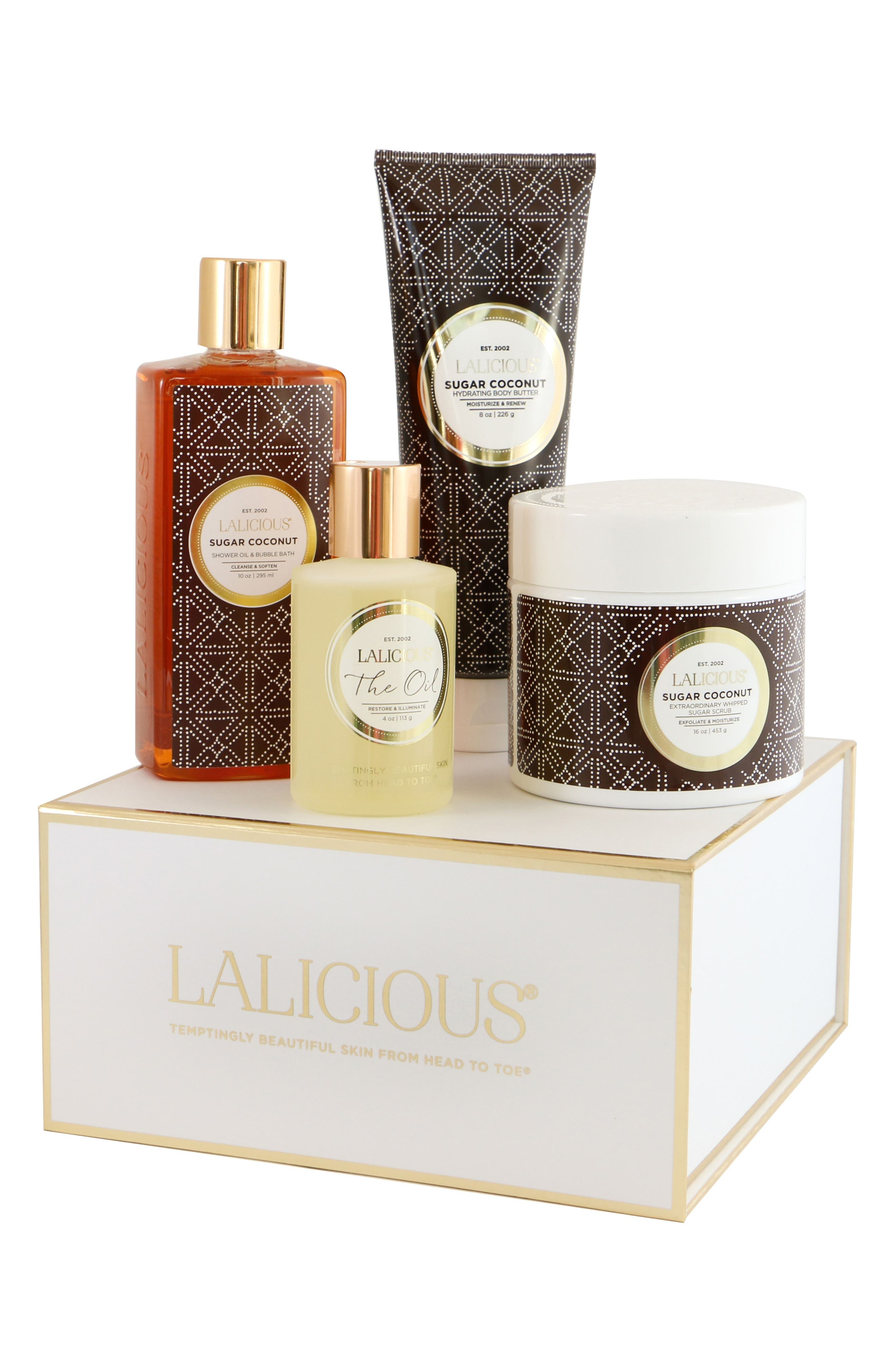 LALICIOUS Sugar Coconut At Home Spa Collection (Nordstrom Exclusive) ($117.50 Value)