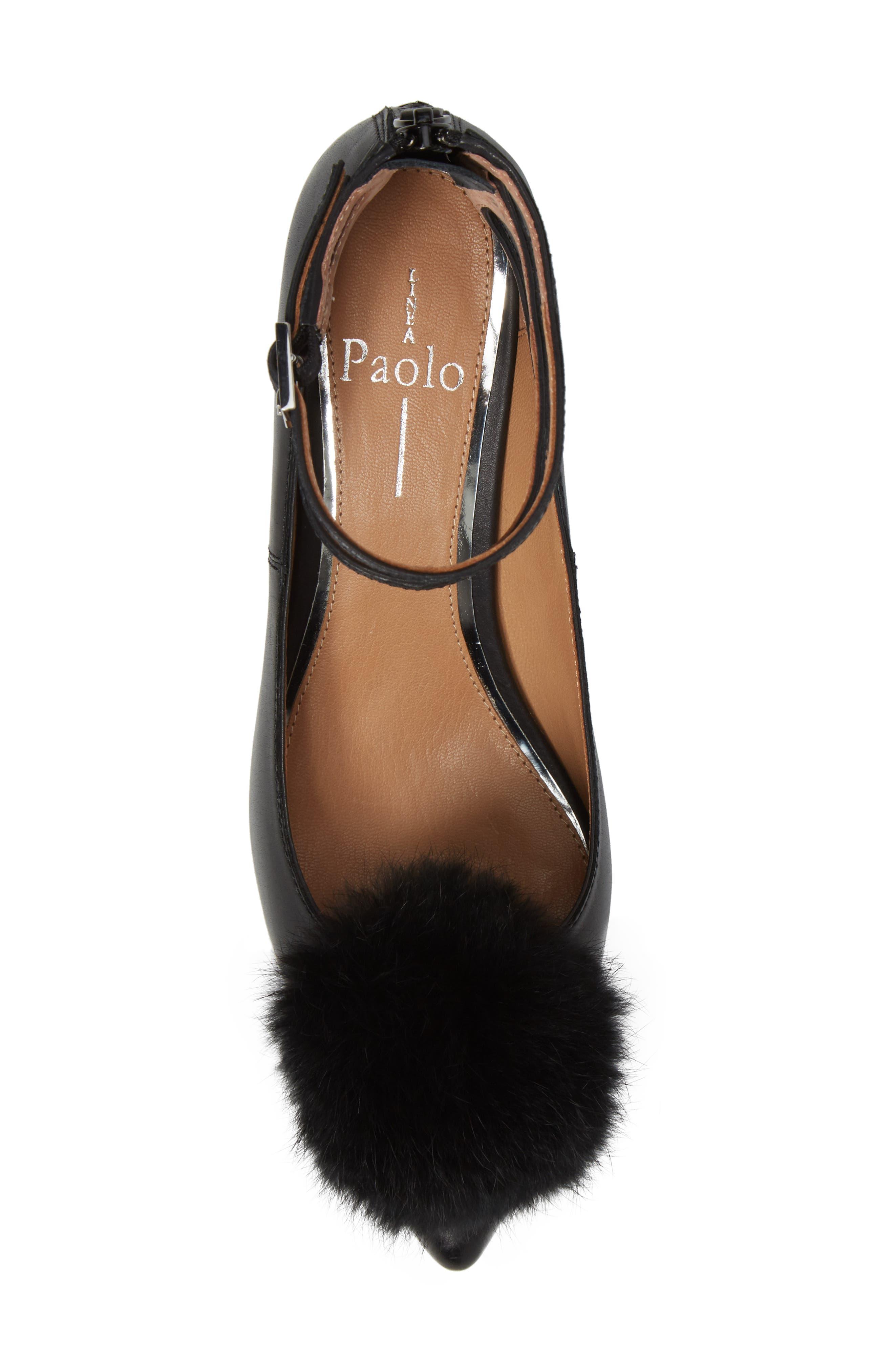 Alternate Image 5  - Linea Paolo Nadine Ankle Strap Pump (Women)