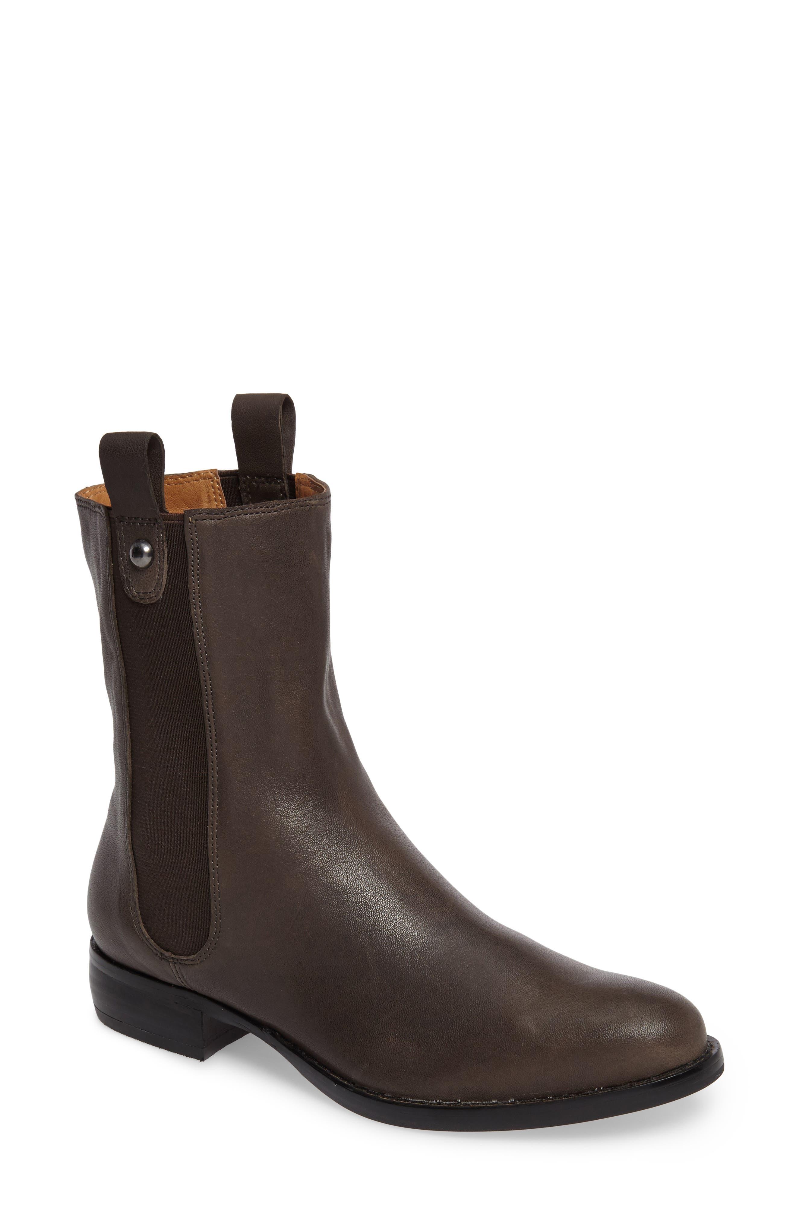 CC Corso Como Armando Boot,                         Main,                         color, Dark Grey Leather