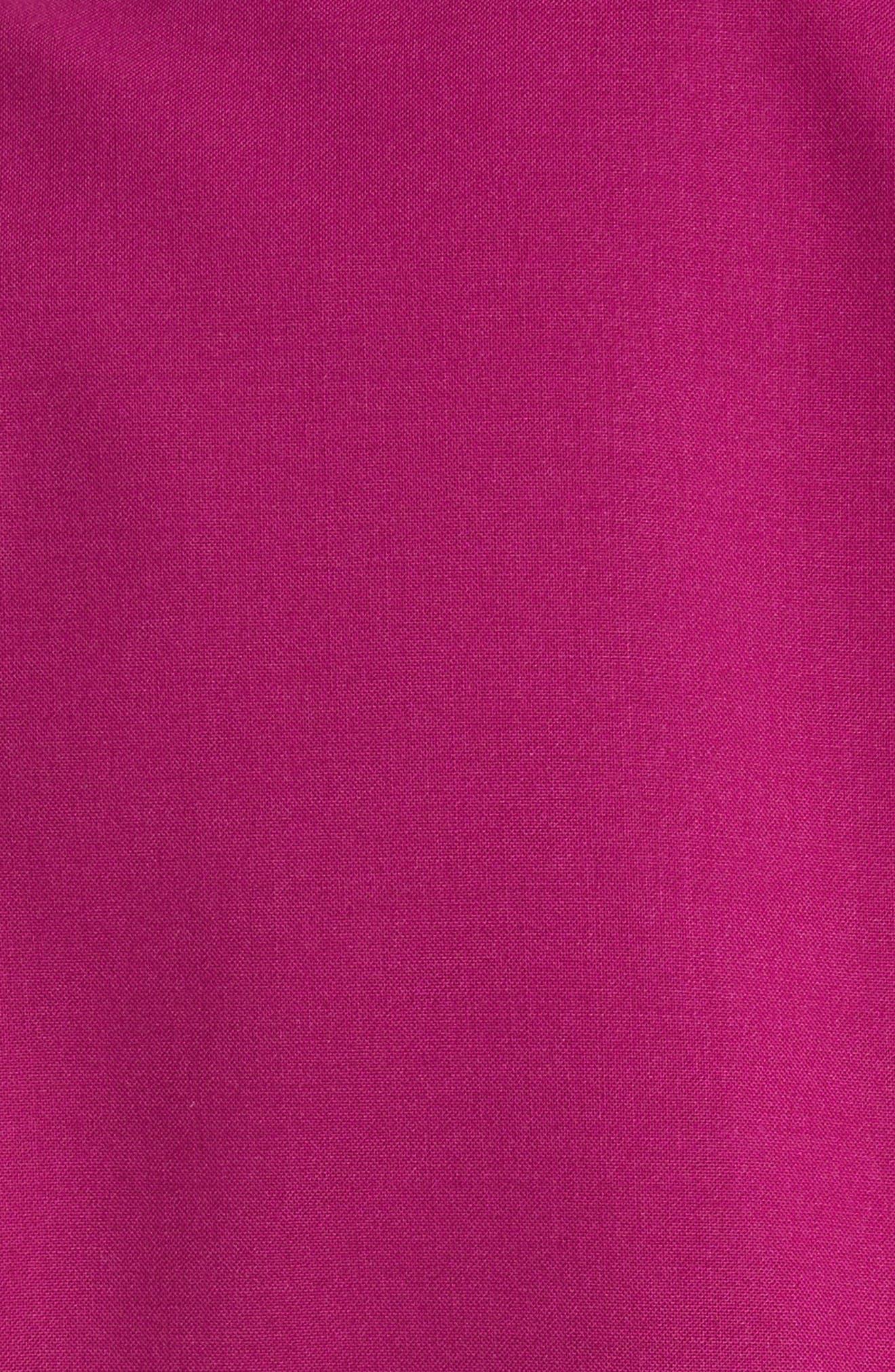 Etienette B Good Wool Suit Jacket,                             Alternate thumbnail 6, color,                             Electric Pink
