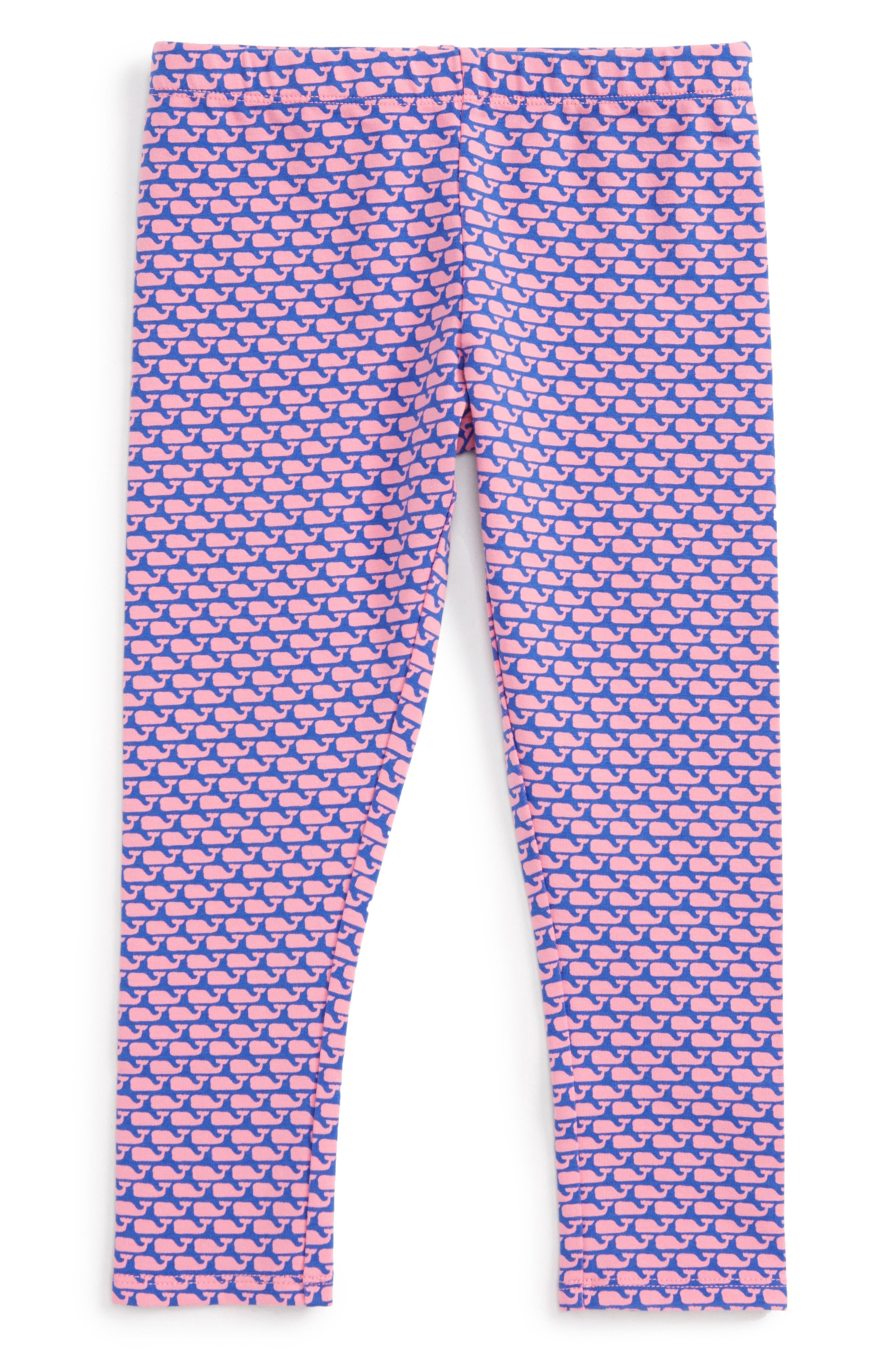 Vineyard Vines Whale Print Leggings (Toddler Girls)