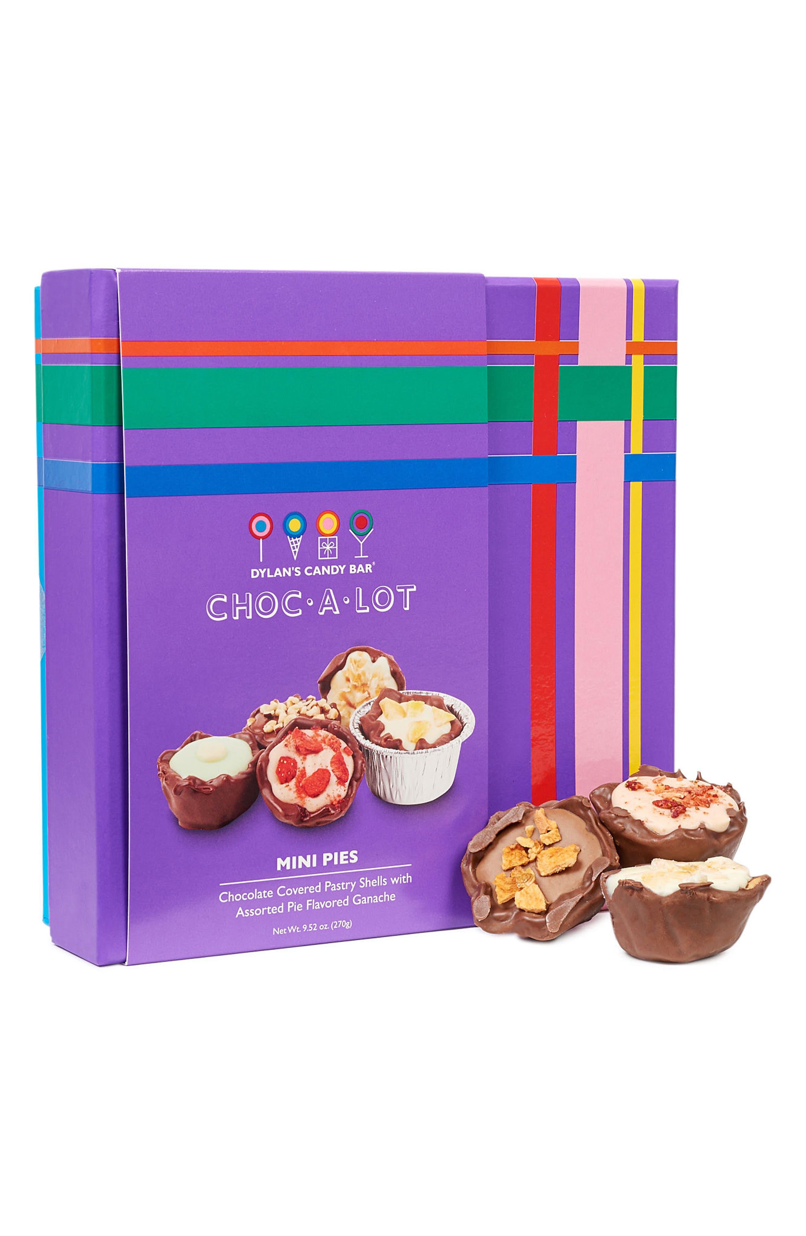 Choc-A-Lot Chocolate Covered Mini Pies,                             Main thumbnail 1, color,                             Purple
