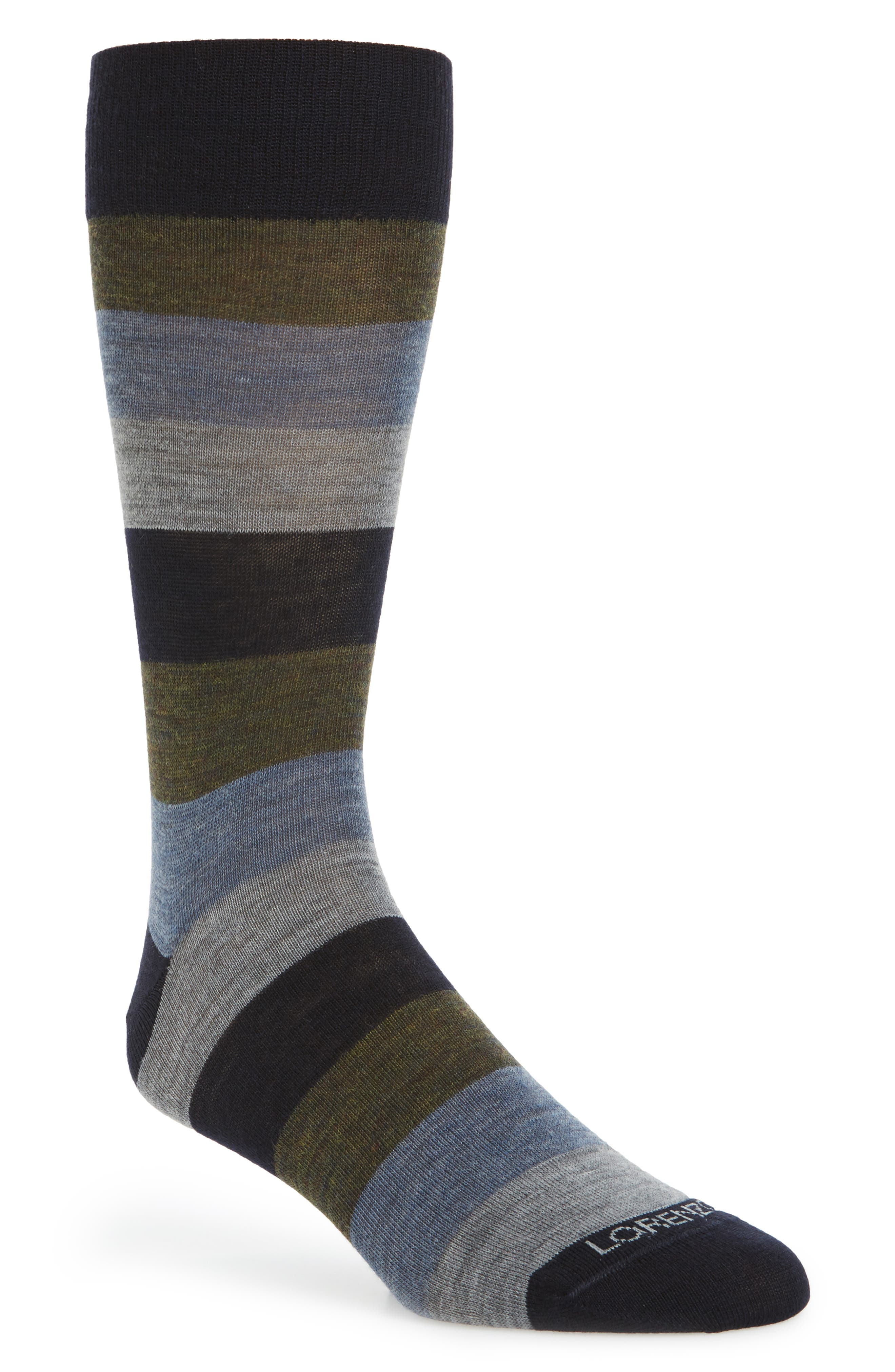 Lorenzo Uomo Colorblock Socks