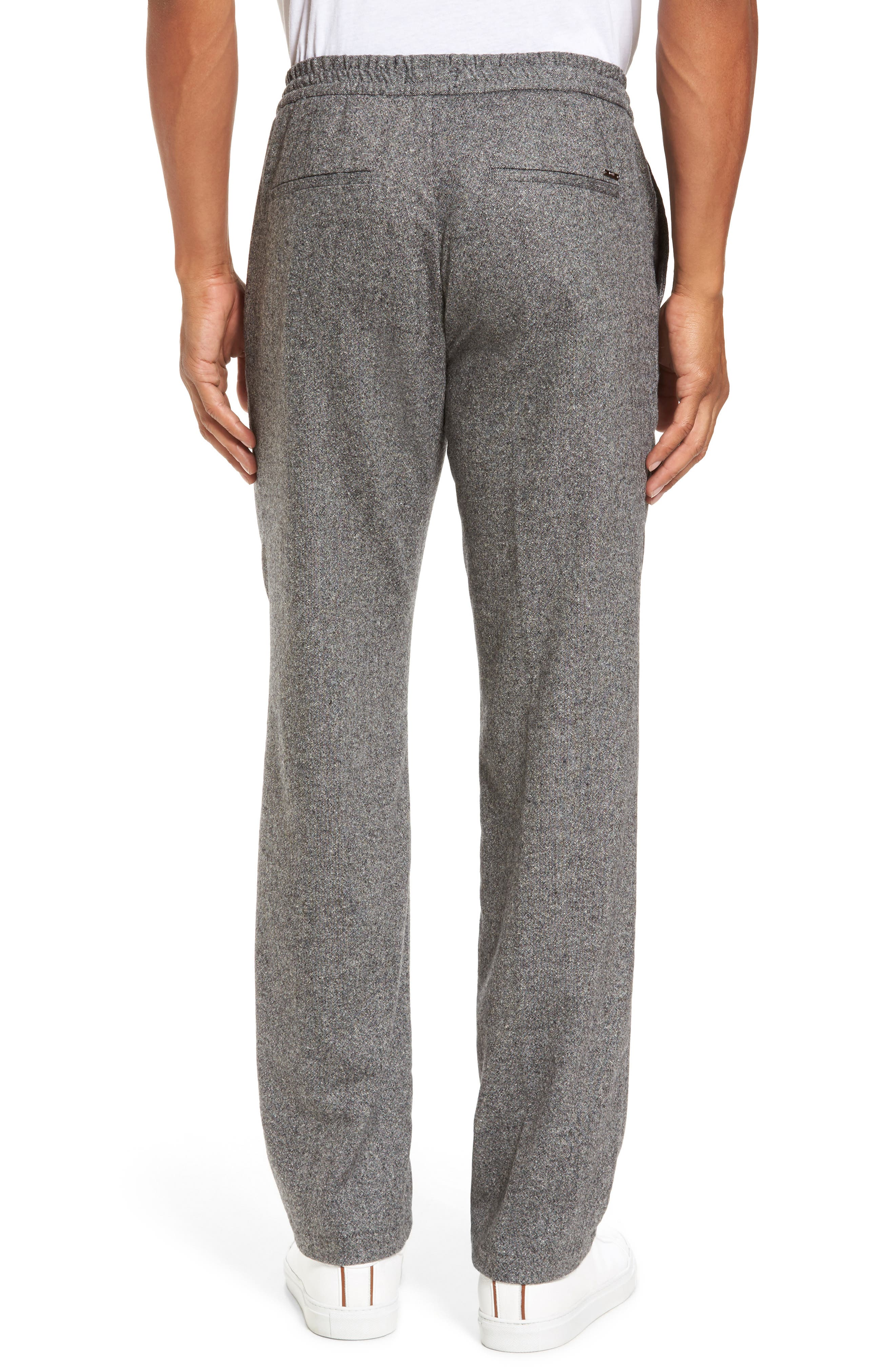 Barne Drawstring Waist Trousers,                             Alternate thumbnail 2, color,                             Grey