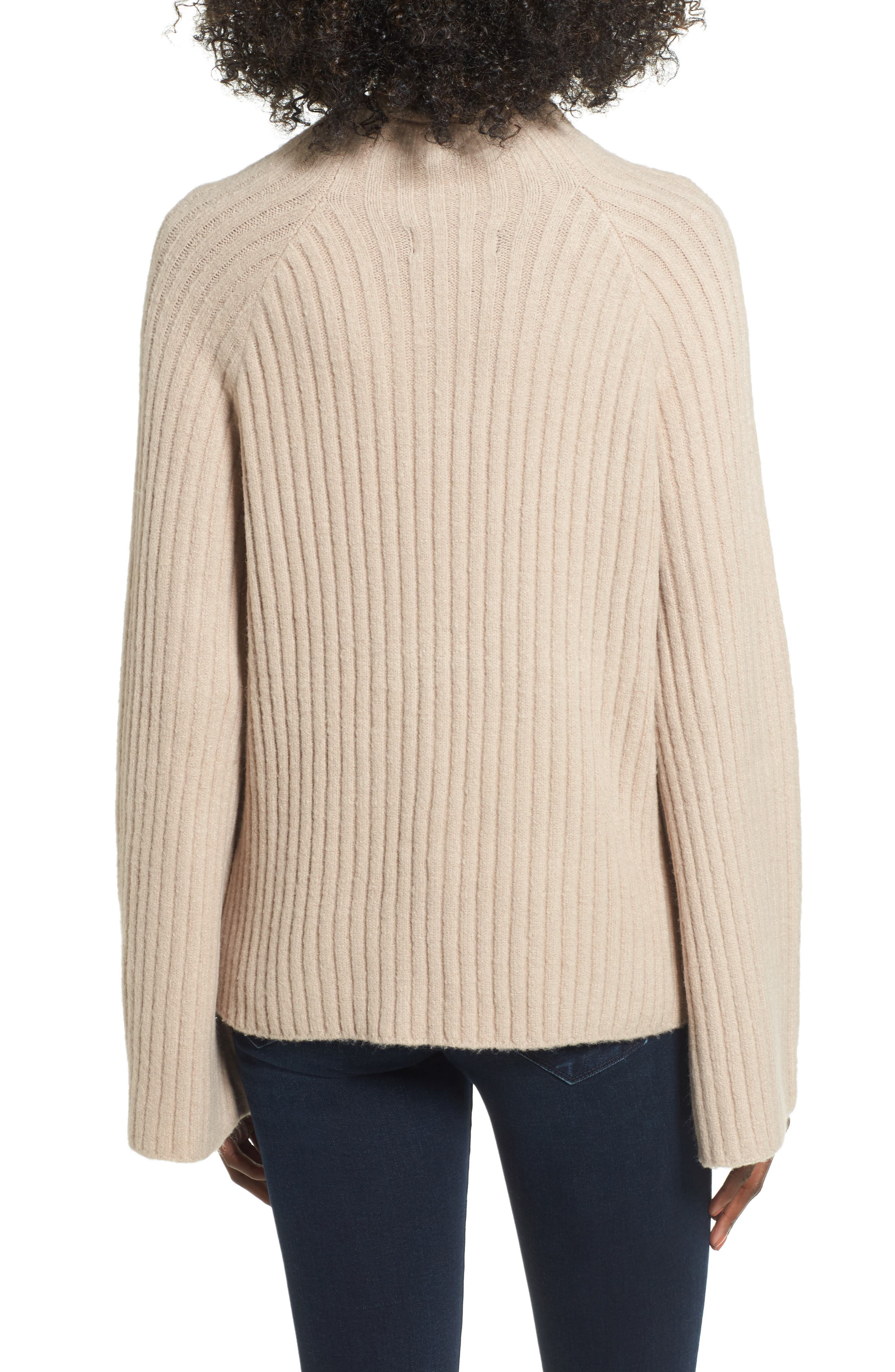 Alternate Image 2  - 4SI3NNA Bell Sleeve Sweater