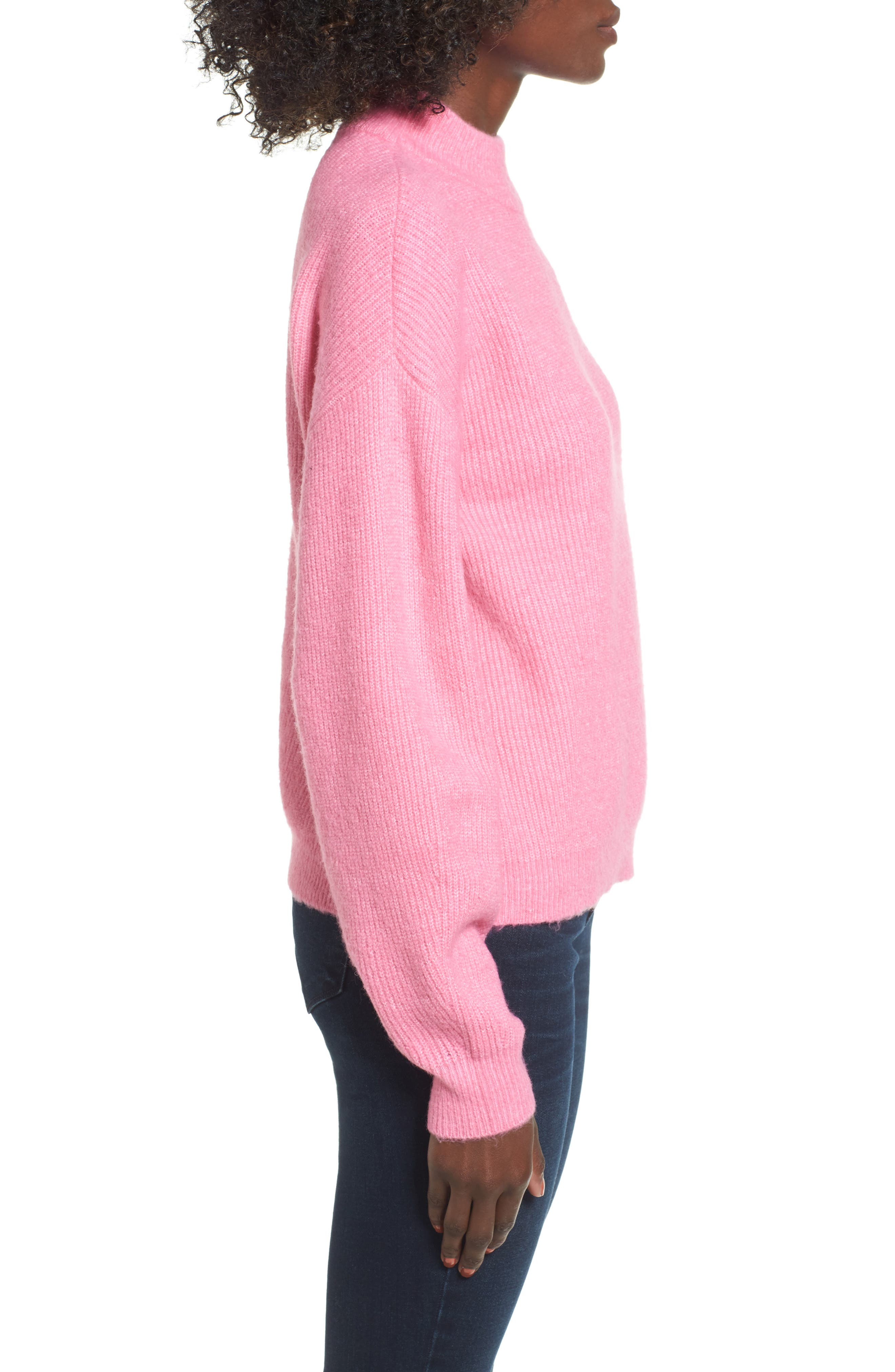 Alternate Image 3  - Leith Cozy Ribbed Pullover