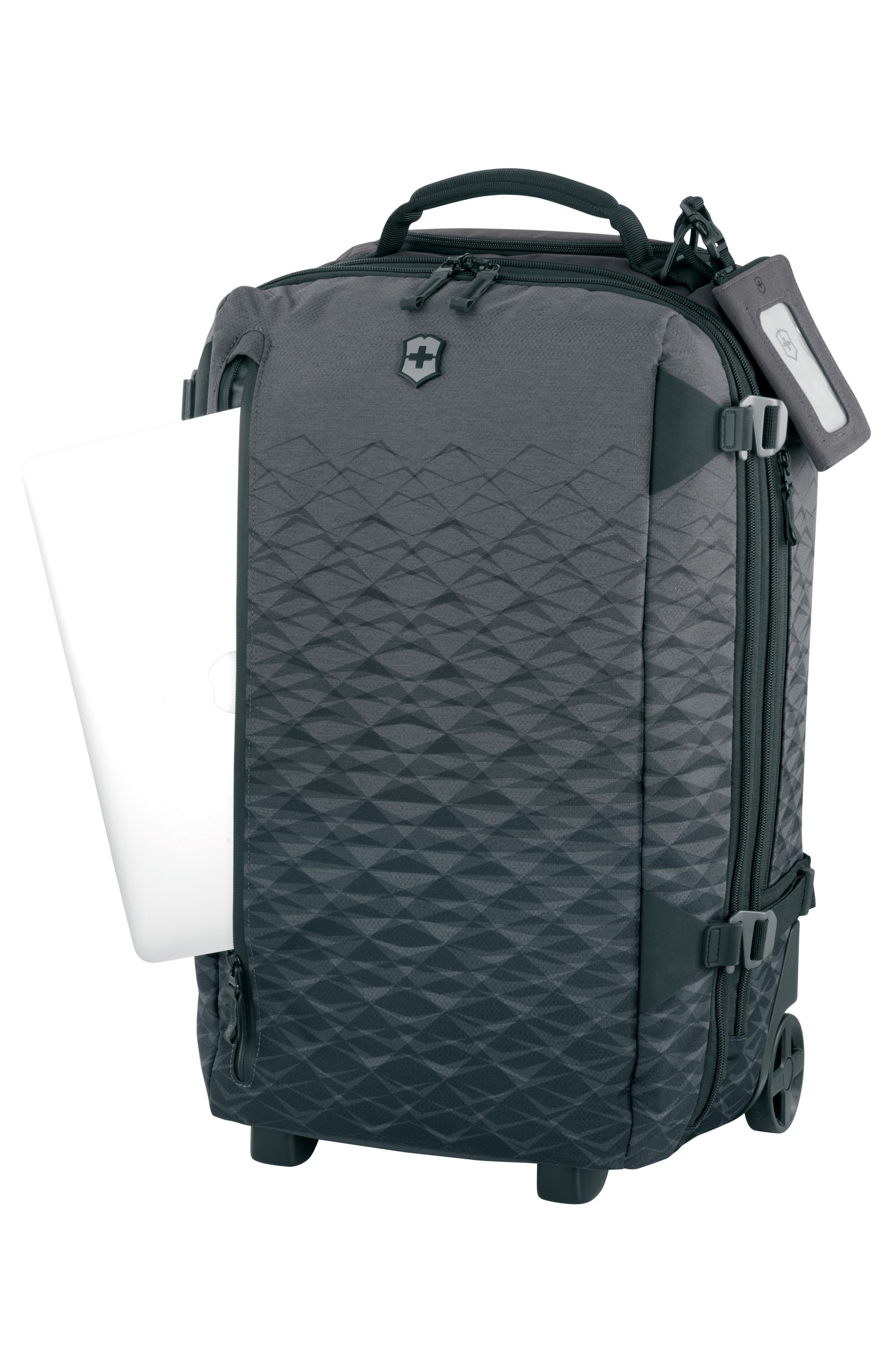 VX Touring 22-Inch Carry-On,                             Alternate thumbnail 6, color,                             Anthracite