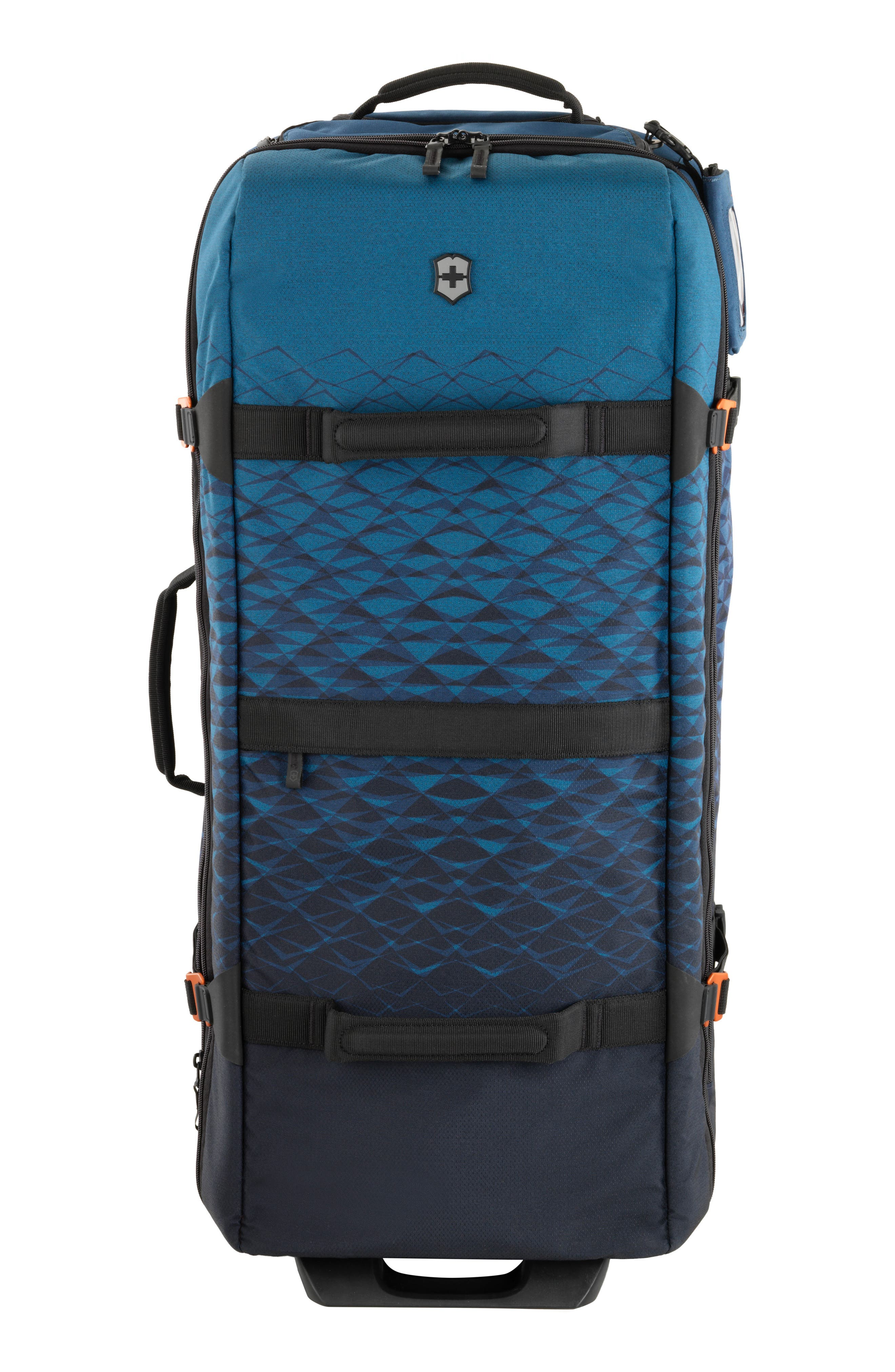VX Touring Extra Large Wheeled Duffel Bag,                         Main,                         color, Dark Teal