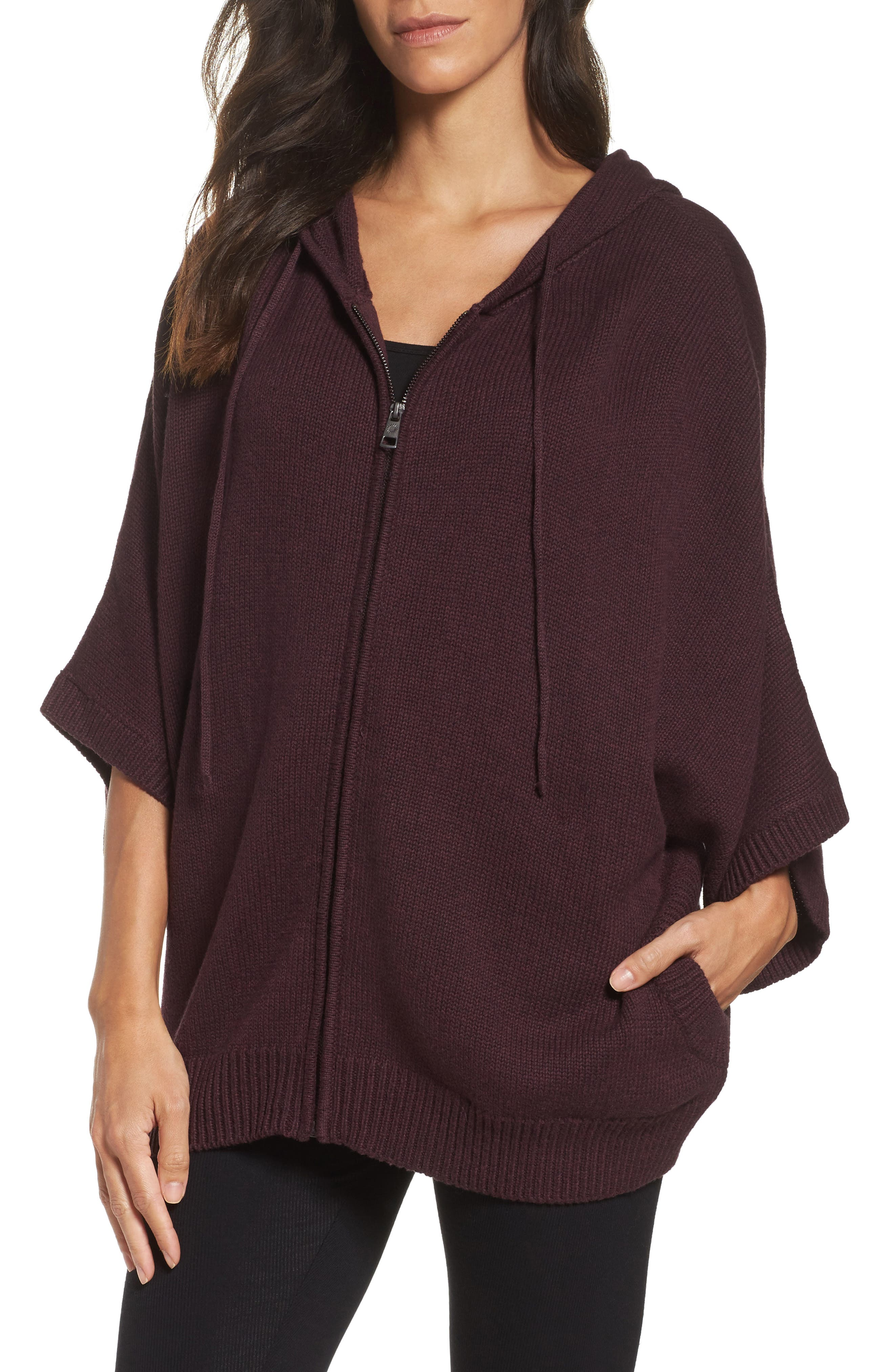 Alternate Image 1 Selected - UGG® Sweater Knit Poncho