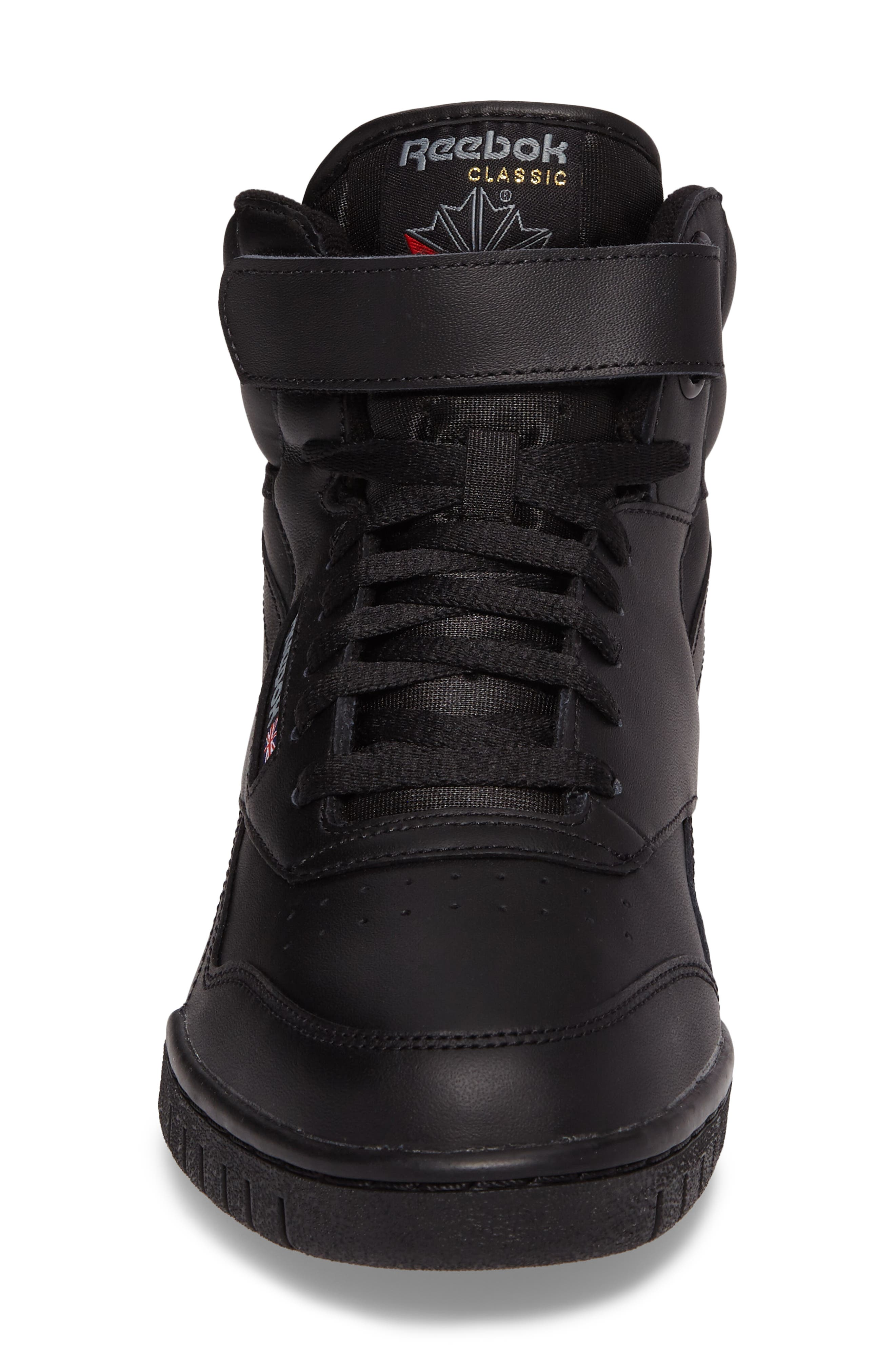 Ex-O-Fit Hi Sneaker,                             Alternate thumbnail 4, color,                             Black