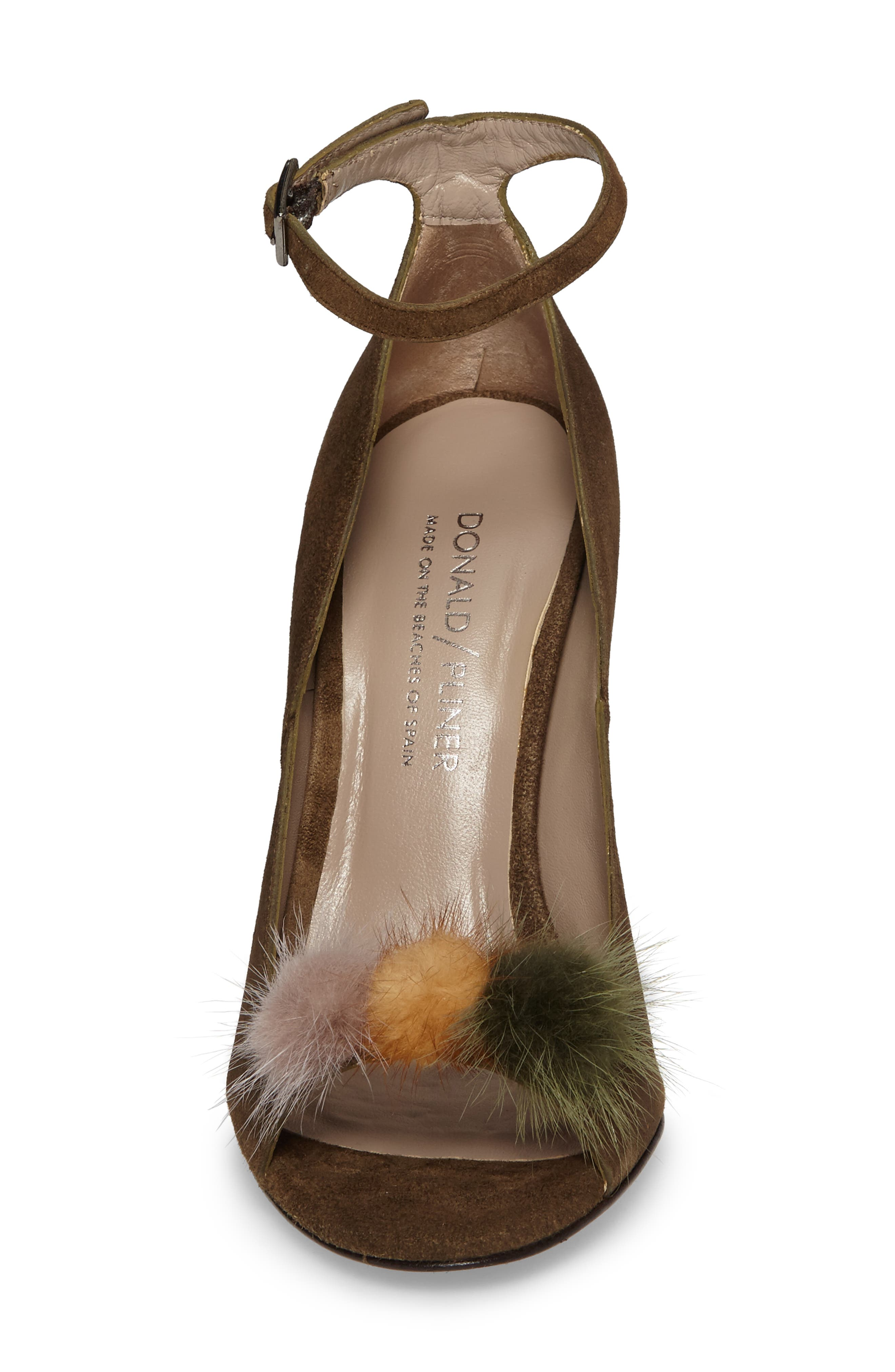 Alternate Image 5  - Donald J Pliner Genuine Mink Fur Pump (Women)