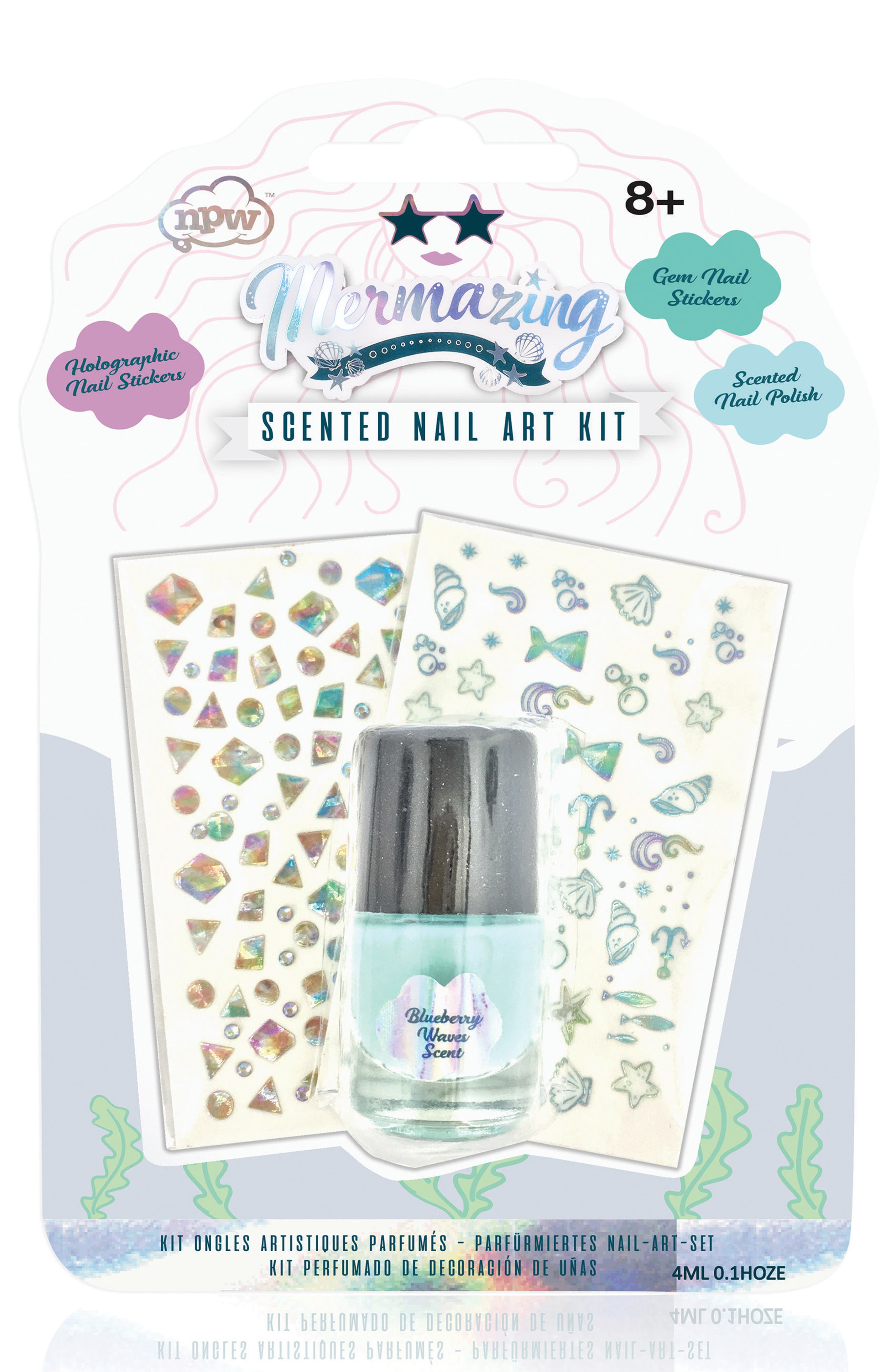 NPW Mermazing Scented Nail Art Kit