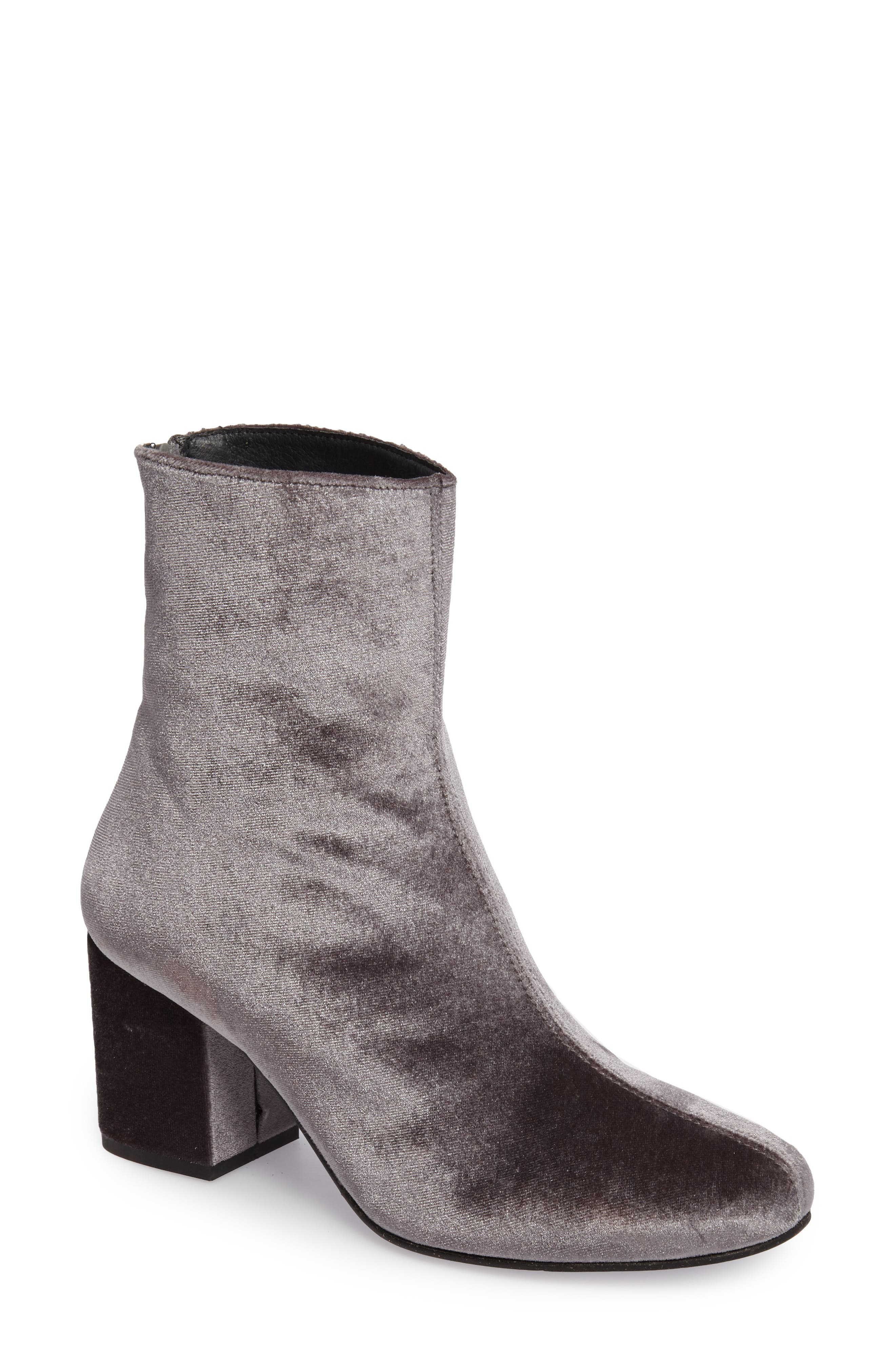 Free People Cecile Block Heel Bootie (Women)