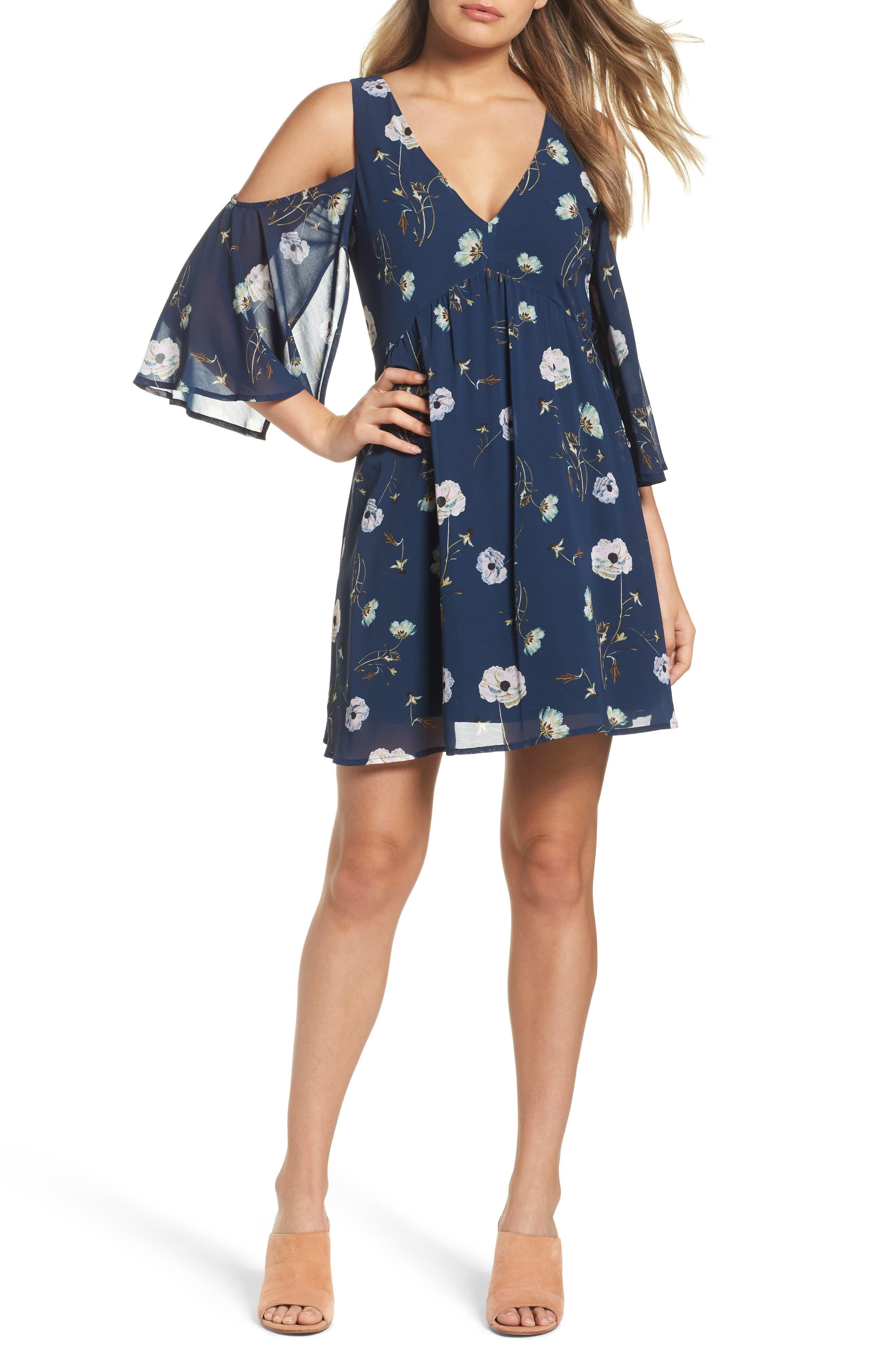 BB Dakota Rylie Cold Shoulder Dress